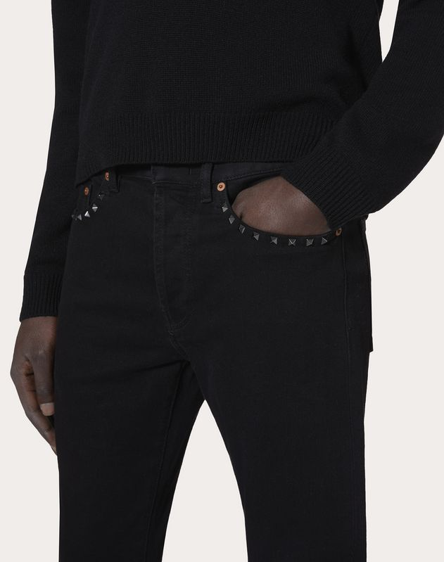 ROCKSTUD UNTITLED JEANS WITH SKINNY FIT