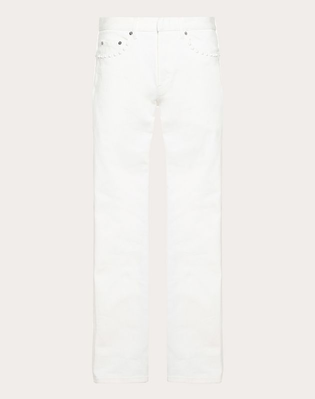 ROCKSTUD UNTITLED JEANS WITH SLIM FIT