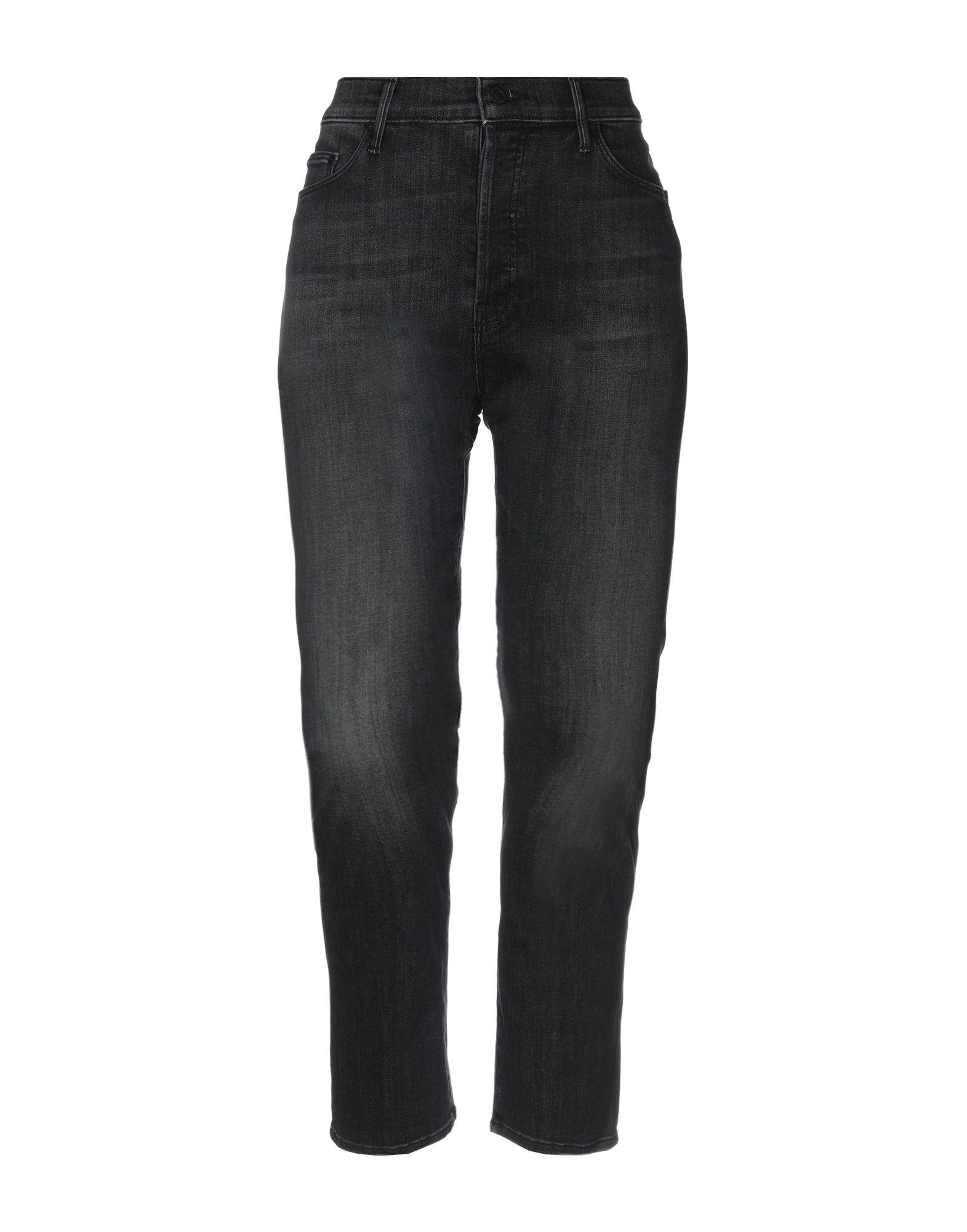 MOTHER Джинсовые брюки black choker sleeveless crop top
