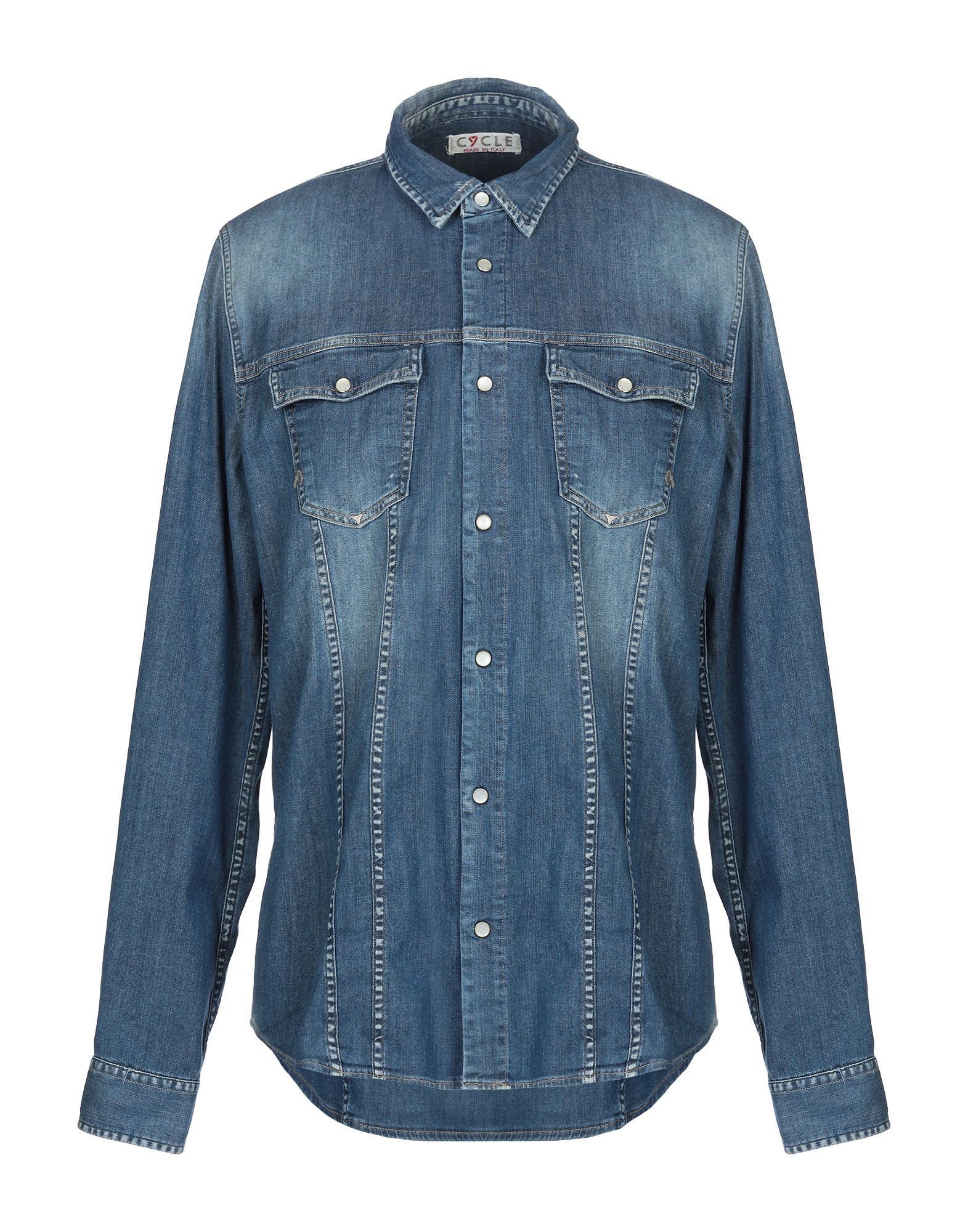 CYCLE Джинсовая рубашка цена 2017
