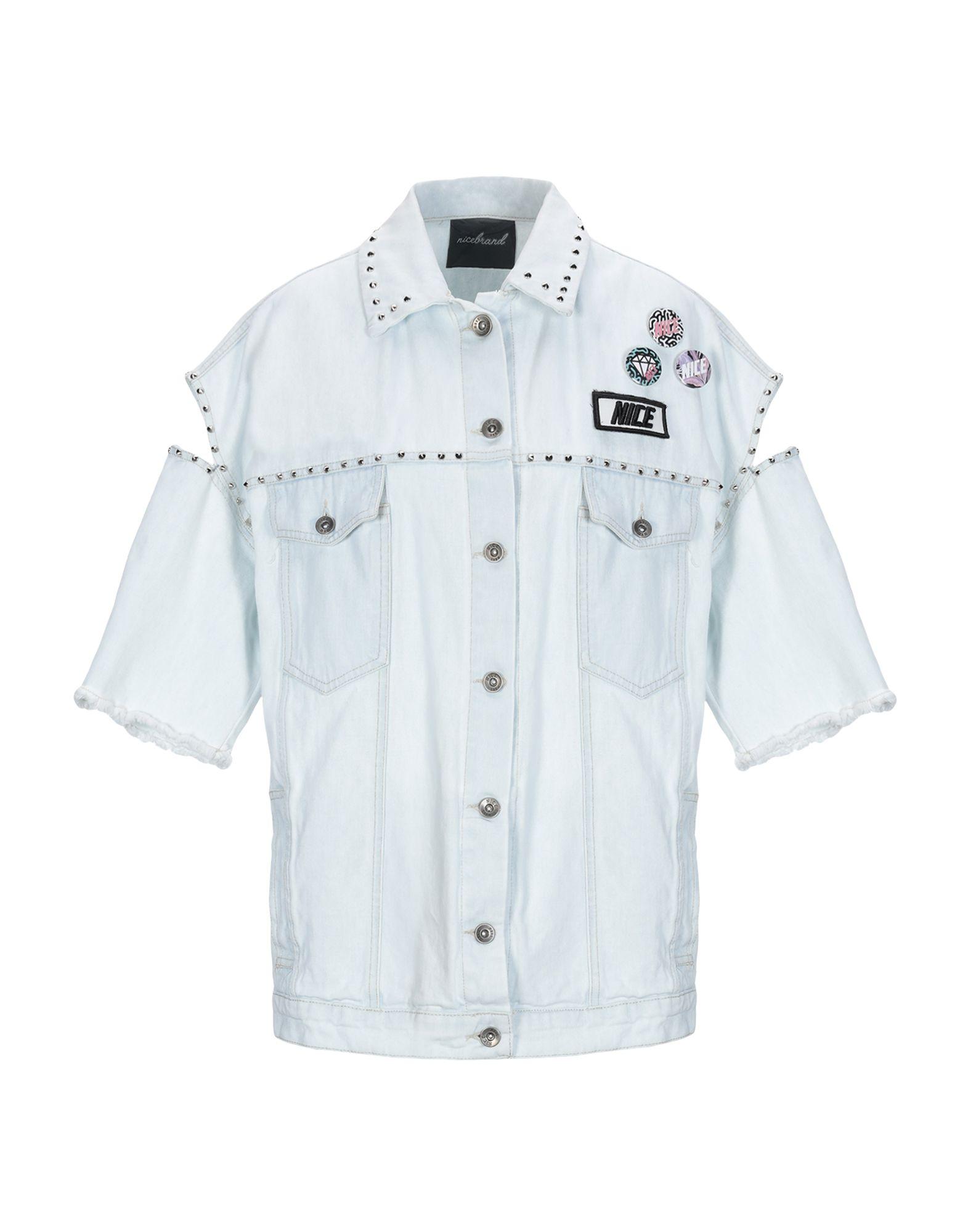 NICEBRAND Джинсовая верхняя одежда недорго, оригинальная цена