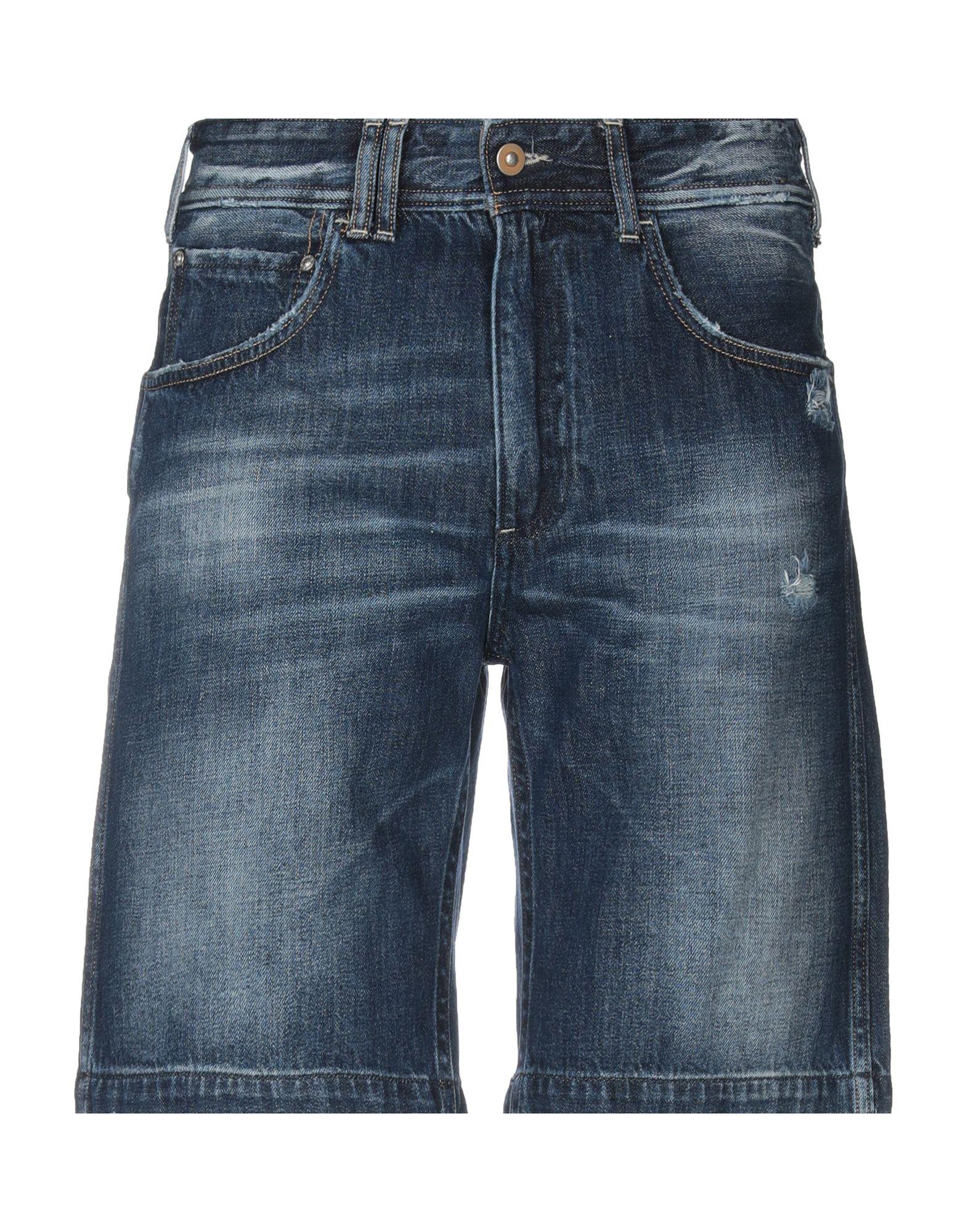 《送料無料》CYCLE メンズ デニムバミューダパンツ ブルー 31 コットン 100%