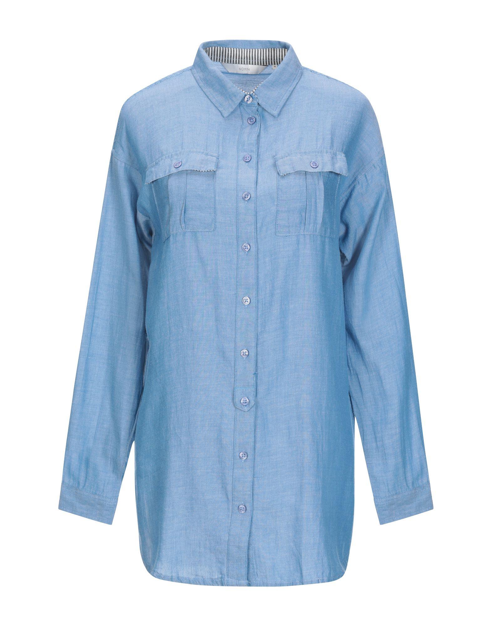 NÜMPH Джинсовая рубашка полуботинки dsquared2