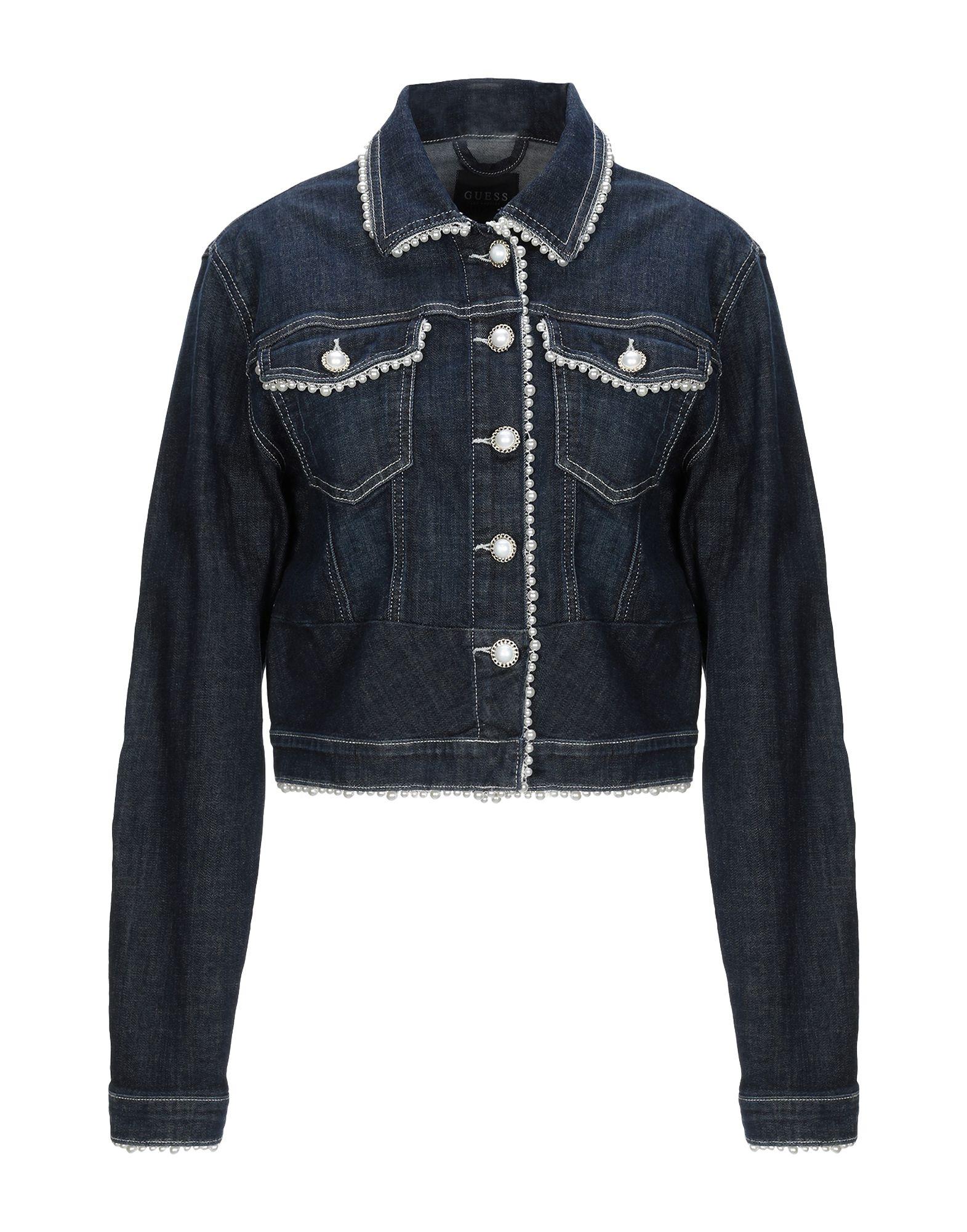 GUESS Джинсовая верхняя одежда брендовая одежда