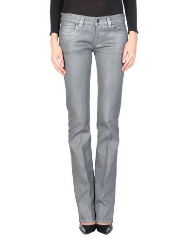 Фото - Джинсовые брюки от ATELIER NOTIFY серого цвета