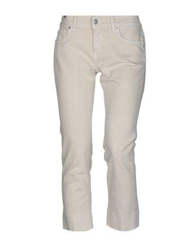 Фото - Джинсовые брюки-капри от ATELIER NOTIFY бежевого цвета