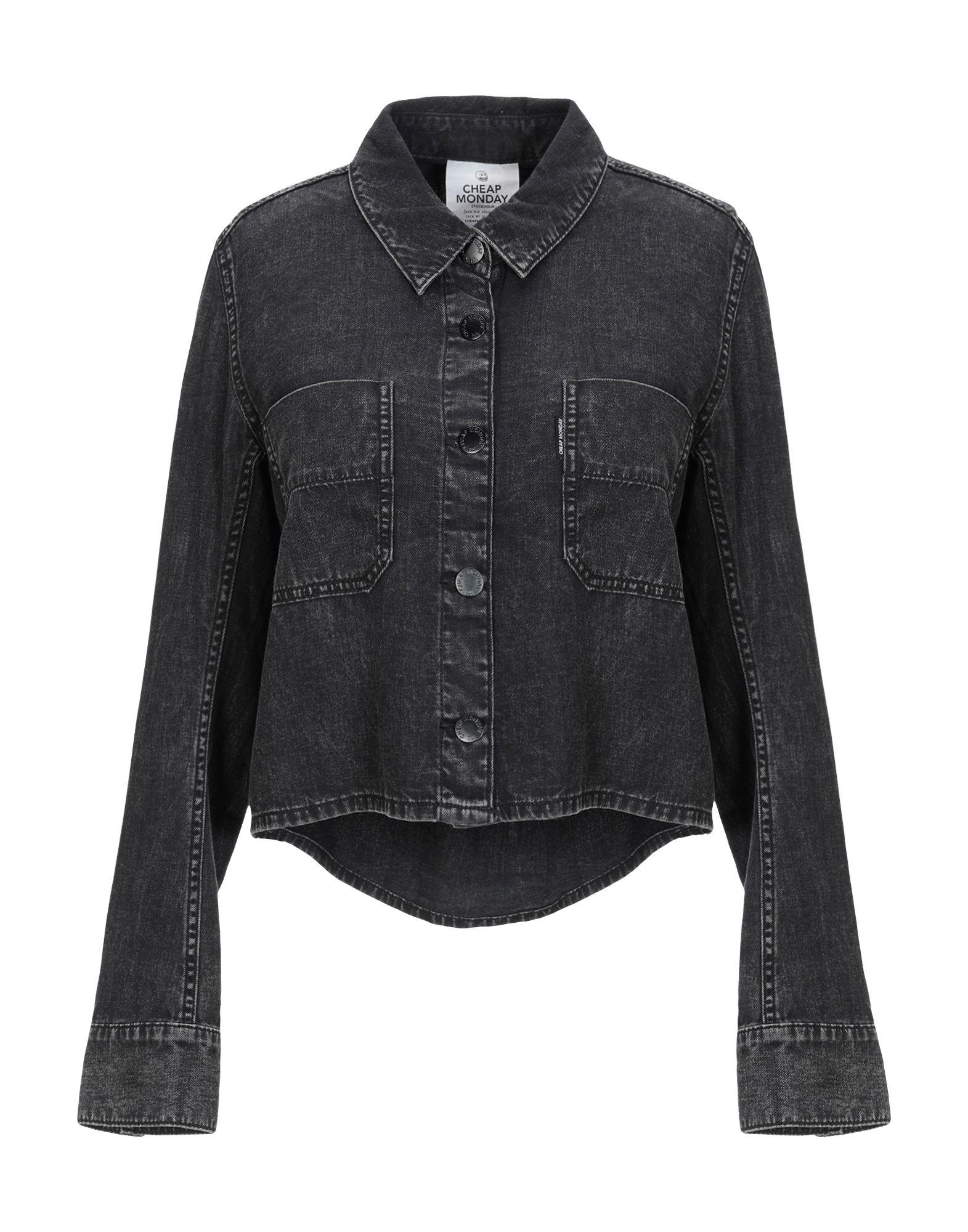 CHEAP MONDAY Джинсовая рубашка рубашка мужская cheap monday цвет черный 0518586 размер xs 44