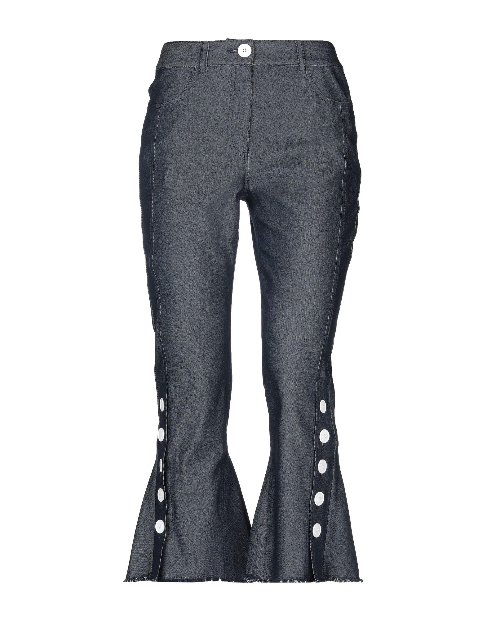 EUDON CHOI Джинсовые брюки цена 2017