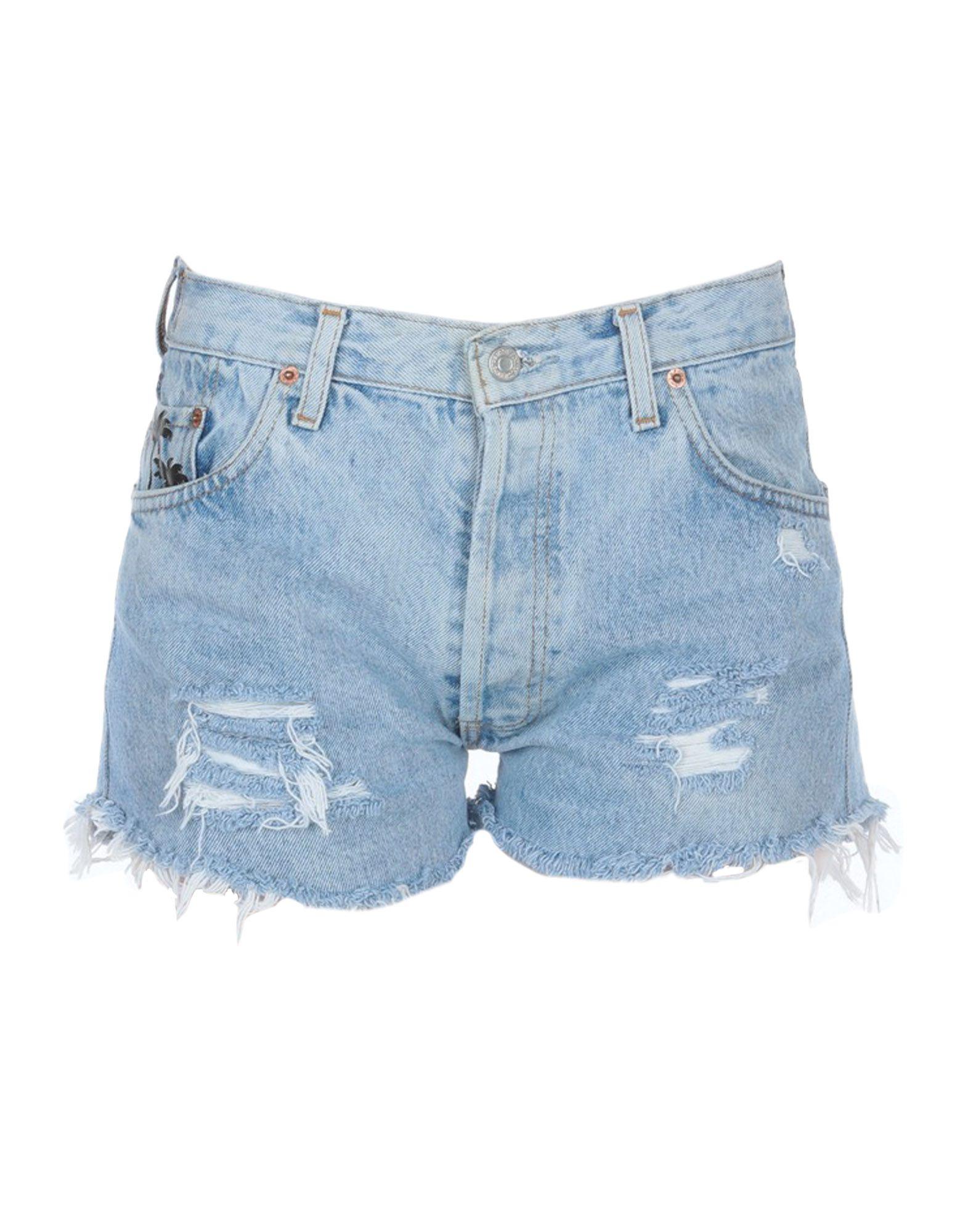 LEVI' S Джинсовые шорты рубашка женская levi s® ultimate boyfriend цвет черный 5893700250 размер s 44
