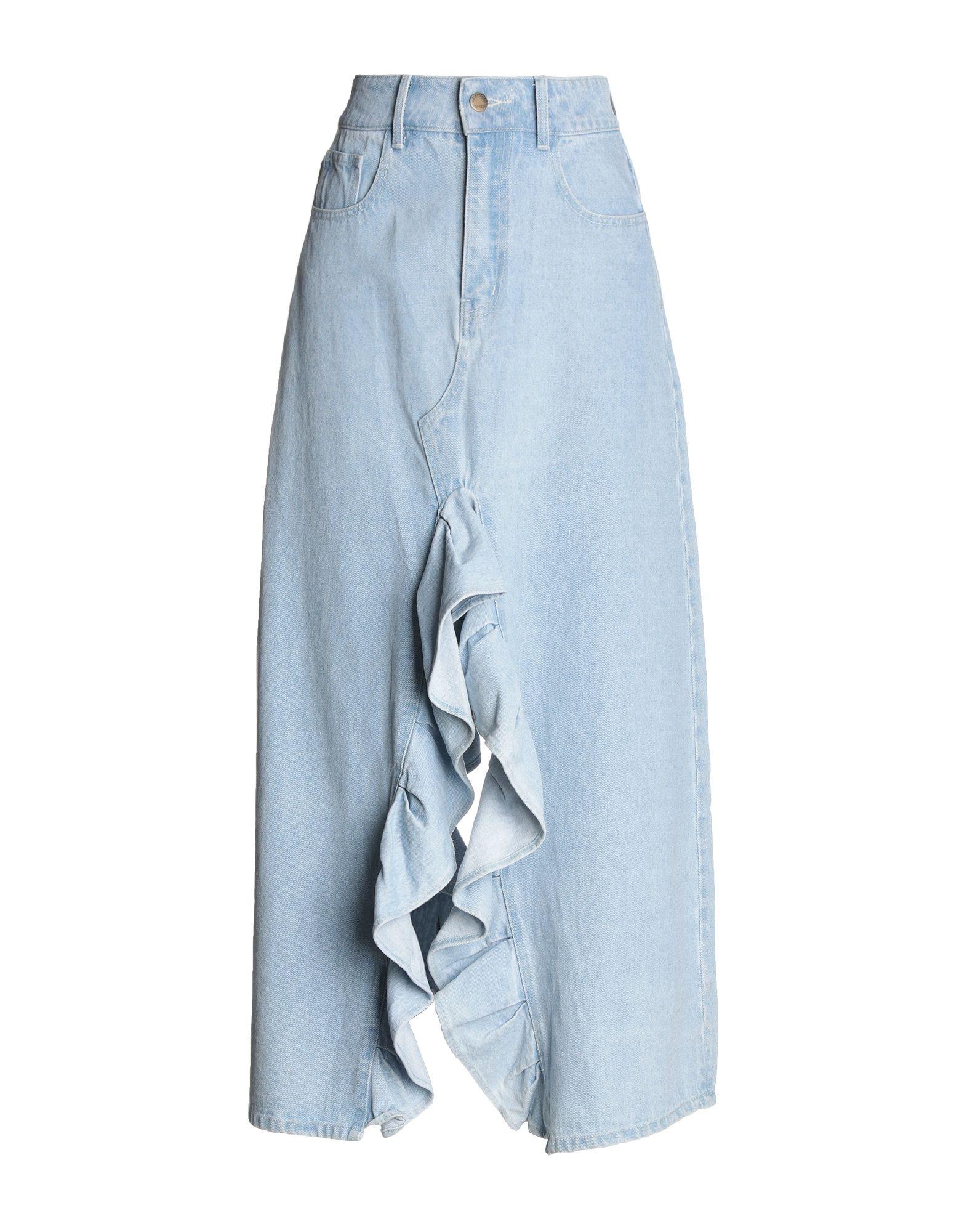 WEILI ZHENG Джинсовая юбка
