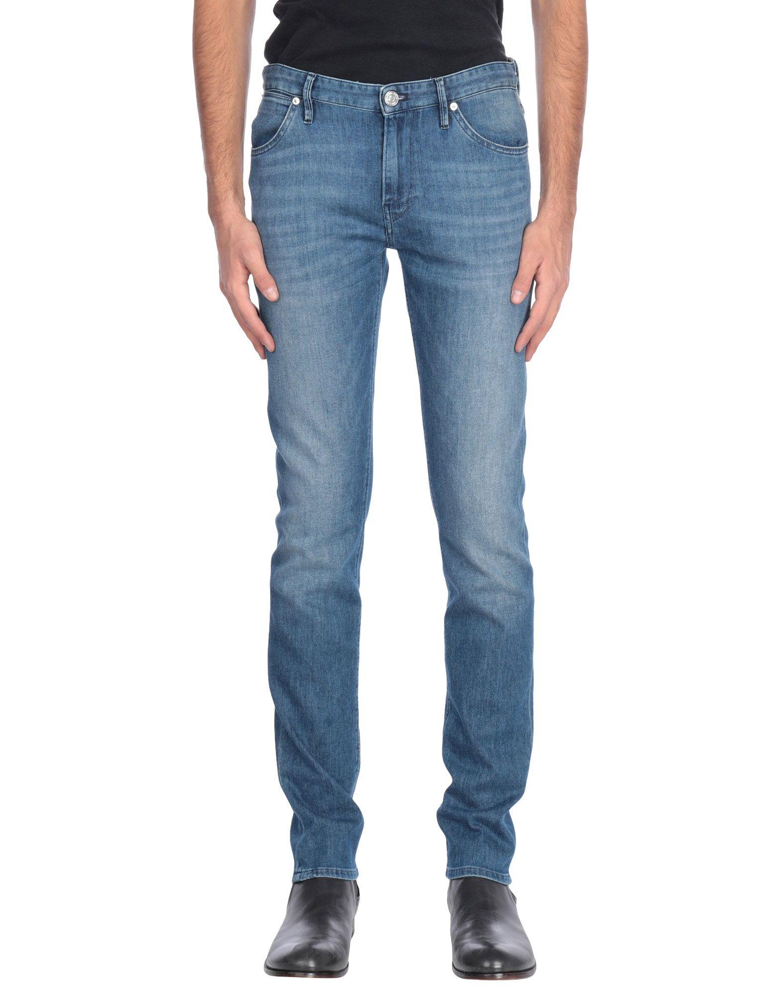 《送料無料》PT05 メンズ ジーンズ ブルー 29 コットン 92% / エメリー 6% / ポリウレタン 2%
