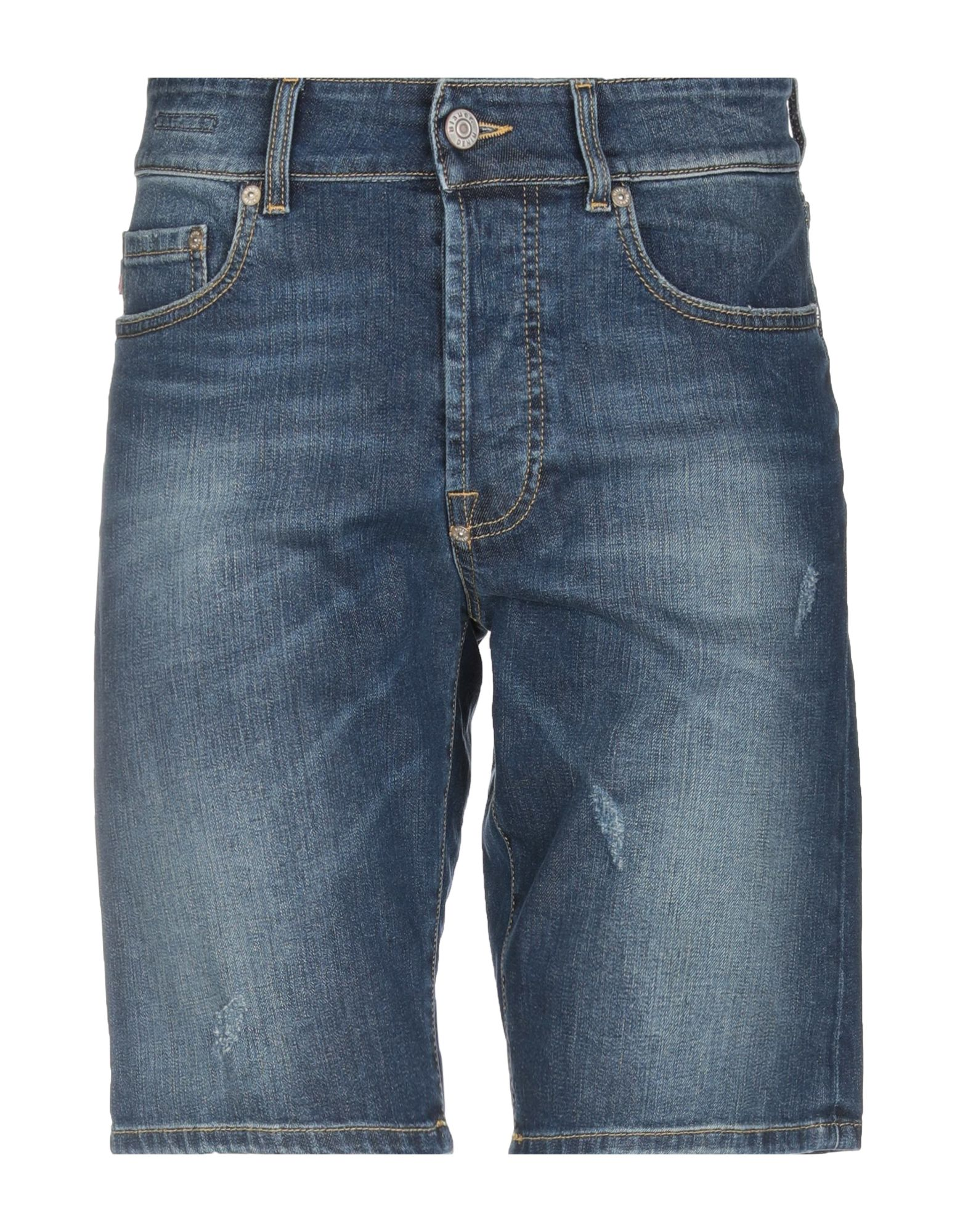 《期間限定セール中》BLAUER メンズ デニムバミューダパンツ ブルー 31 コットン 98% / ポリウレタン 2%