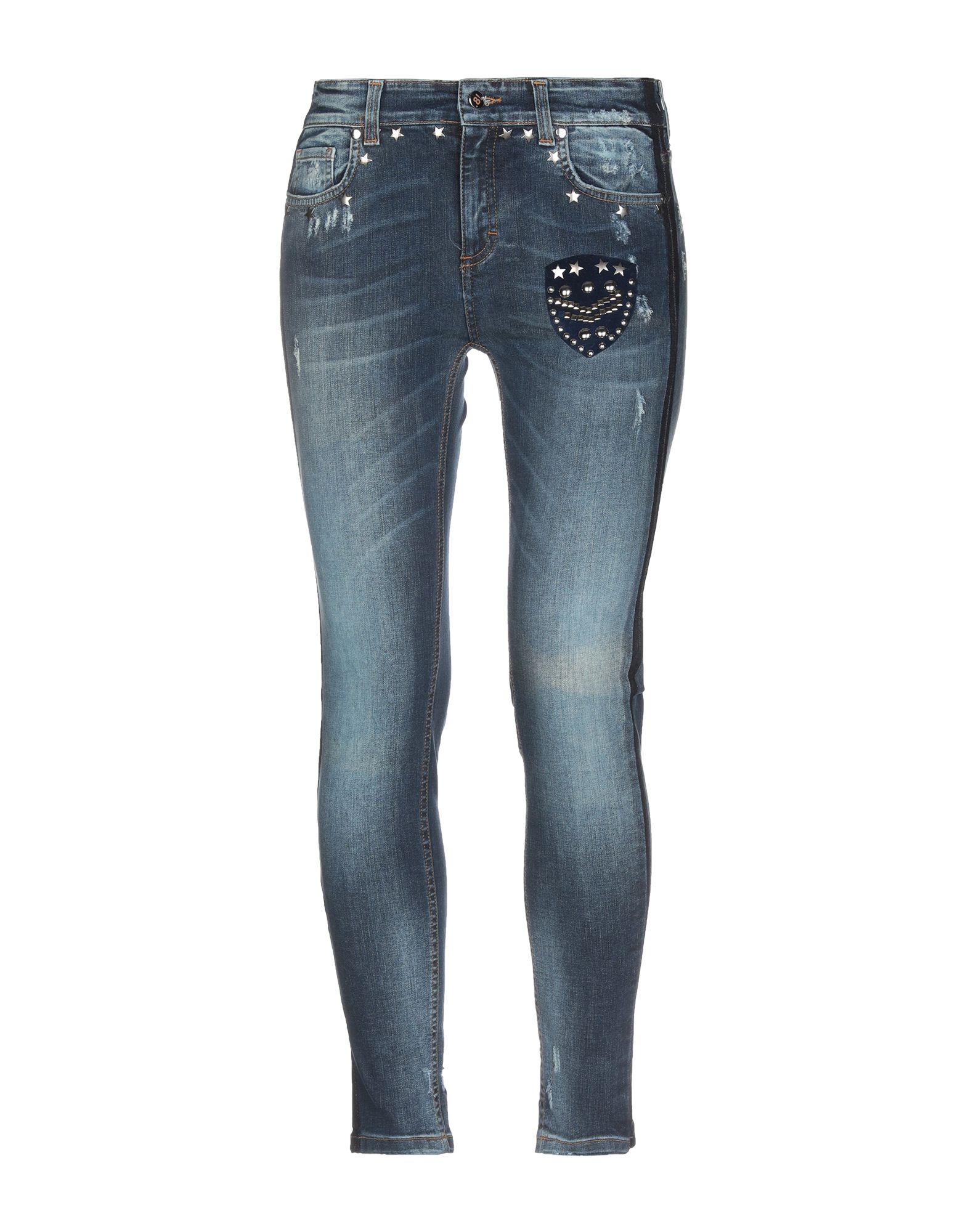 .8! POINT HUIT Джинсовые брюки