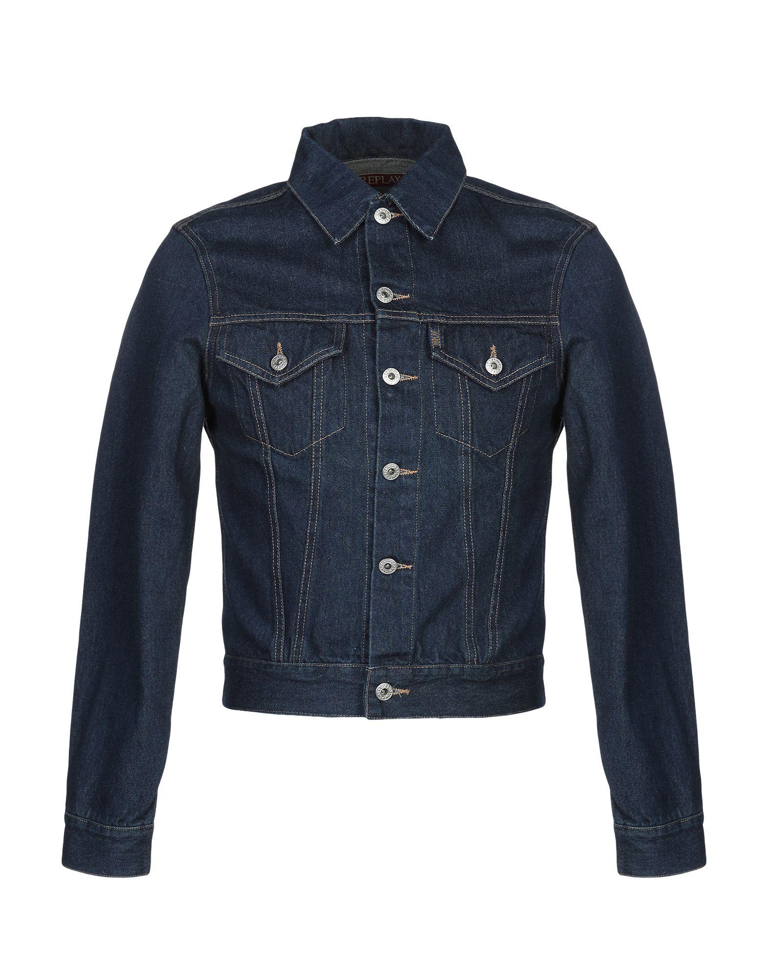 REPLAY Джинсовая верхняя одежда брендовая одежда