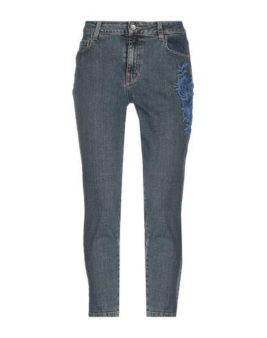 Фото - Джинсовые брюки от TWINSET синего цвета