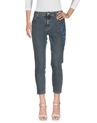 Фото 2 - Джинсовые брюки от TWINSET синего цвета
