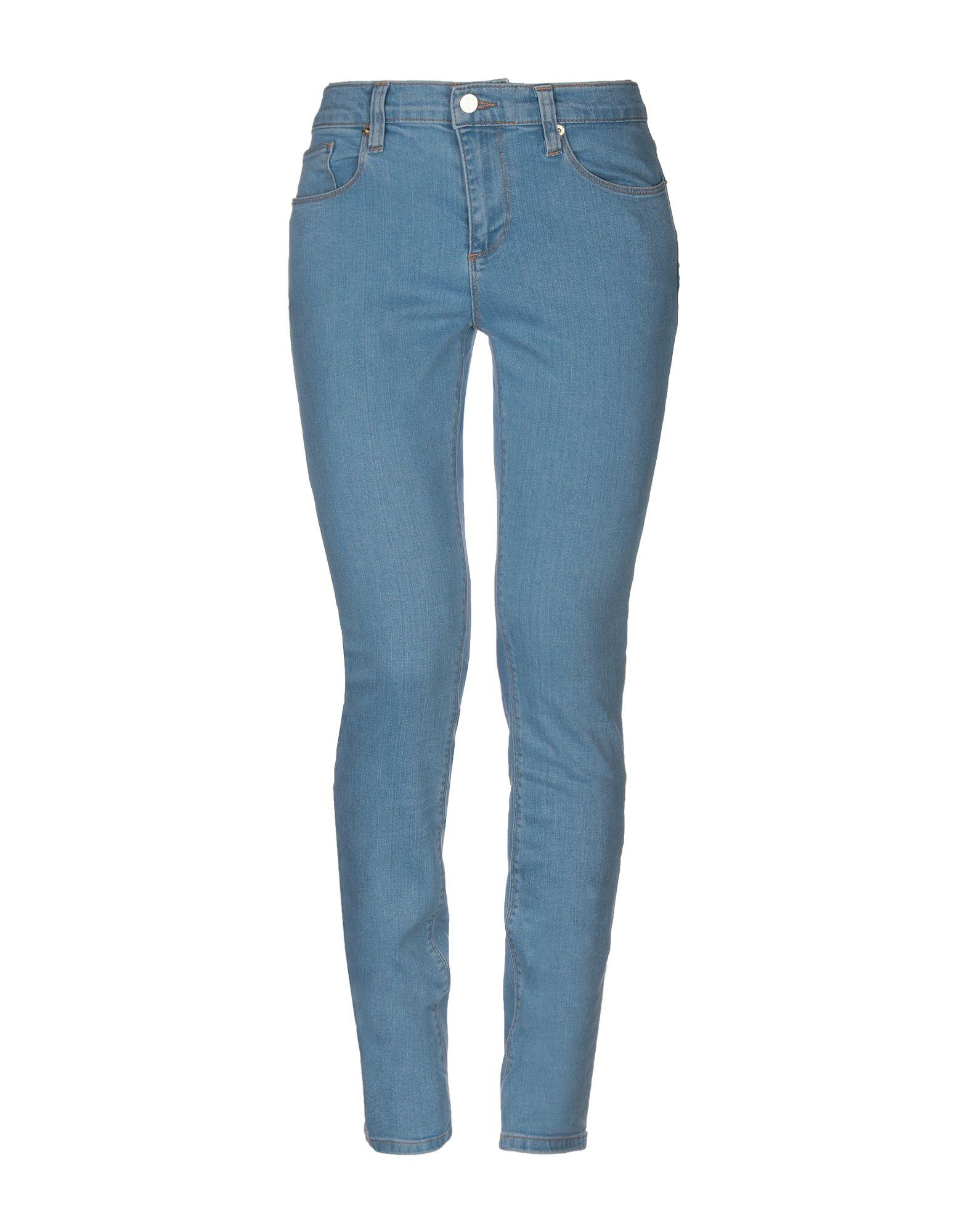 ROBERTO CAVALLI Джинсовые брюки цена 2017