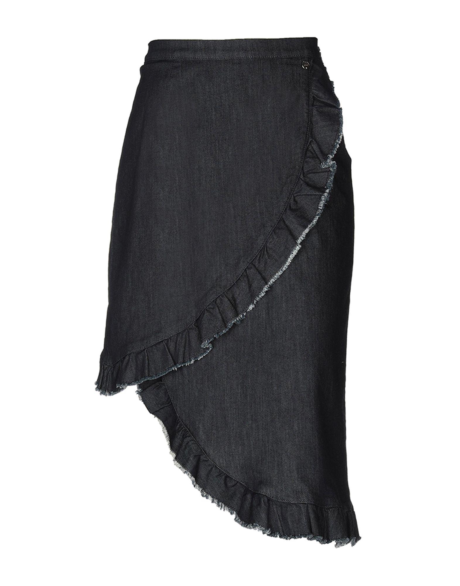 LIU •JO Джинсовая юбка vinemo vorneoco корейская версия высокой талии слот пакет юбка джинсовая юбка юбка юбка r1540 серый xl