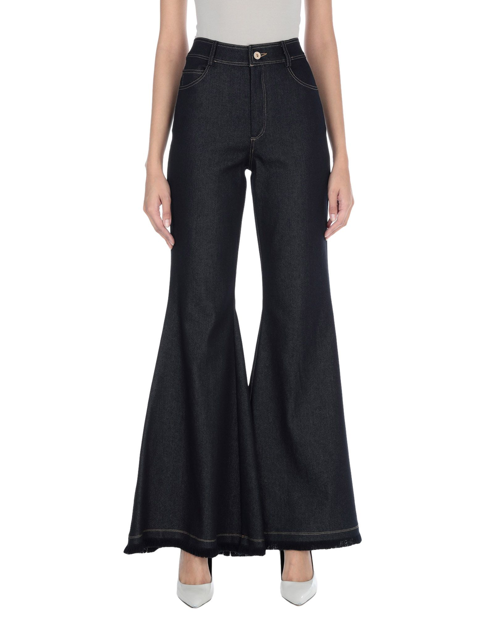 MARIA LUCIA HOHAN Джинсовые брюки цена