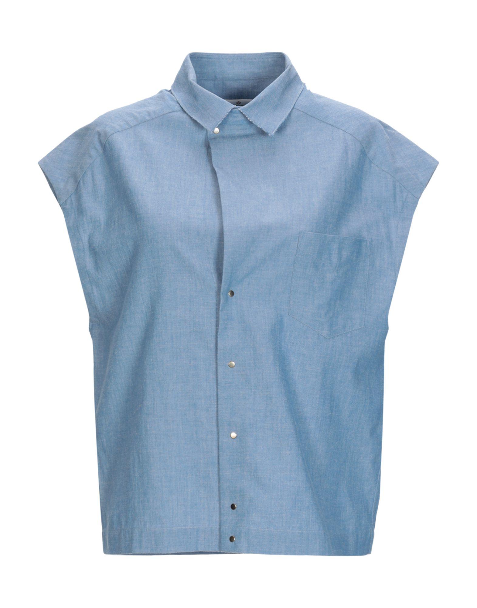 GOLDEN GOOSE DELUXE BRAND Джинсовая рубашка low brand джинсовая рубашка