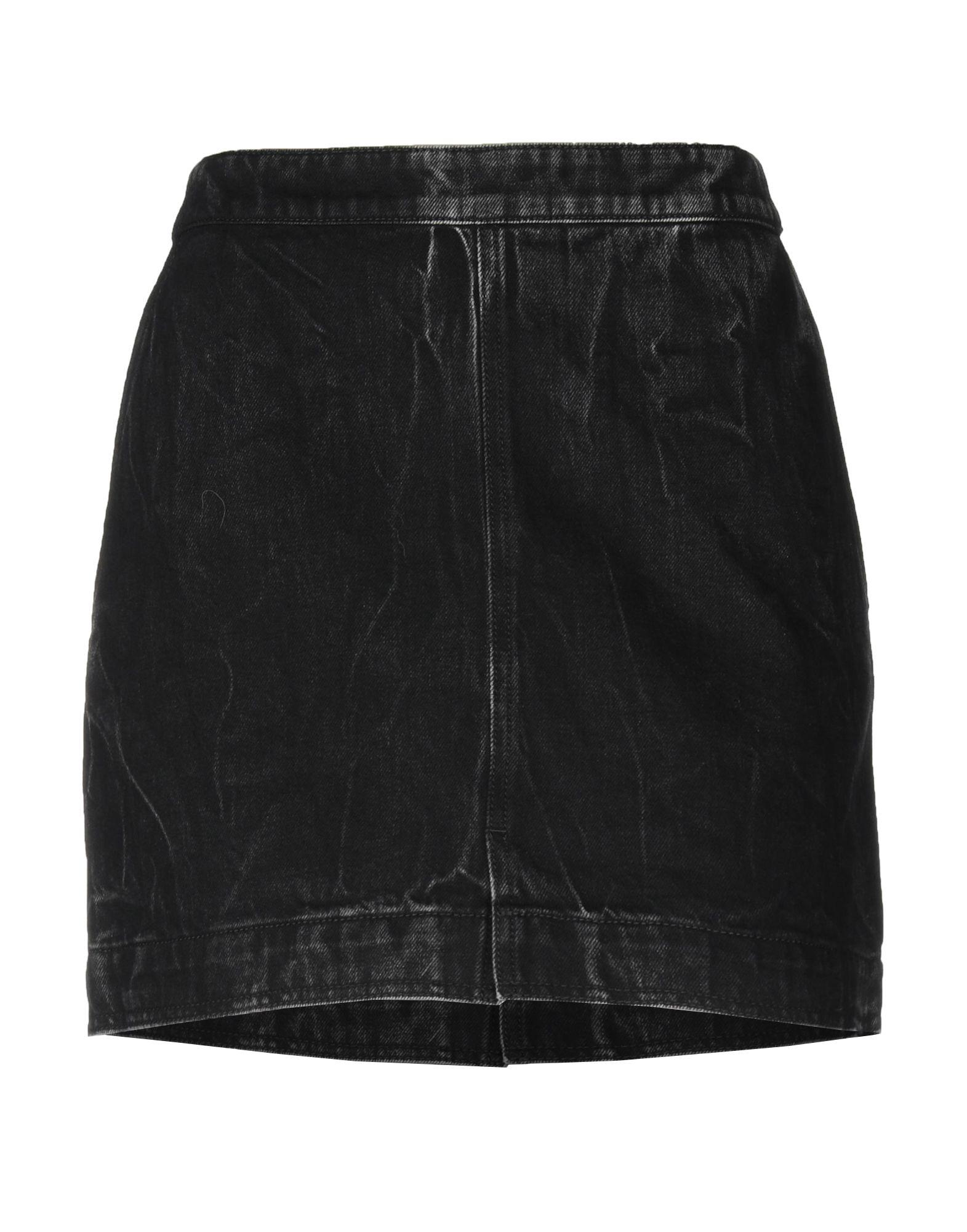 《セール開催中》GIVENCHY レディース デニムスカート ブラック 40 コットン 100%