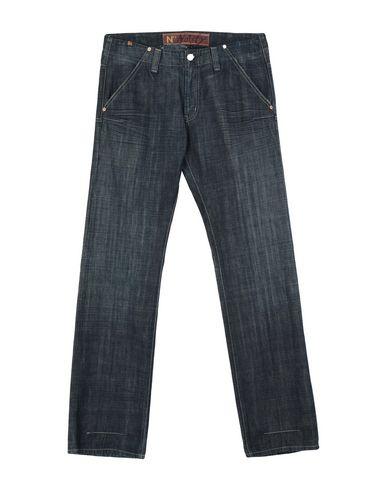 Фото - Джинсовые брюки от ATELIER NOTIFY синего цвета