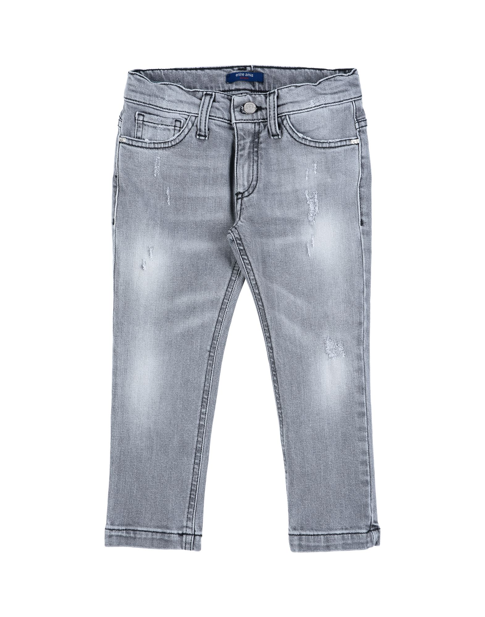 Entre Amis Garçon Kids' Jeans In Grey
