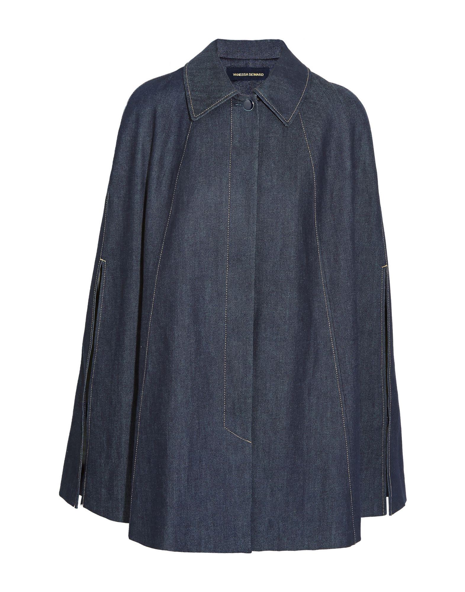 VANESSA SEWARD Джинсовая верхняя одежда верхняя одежда
