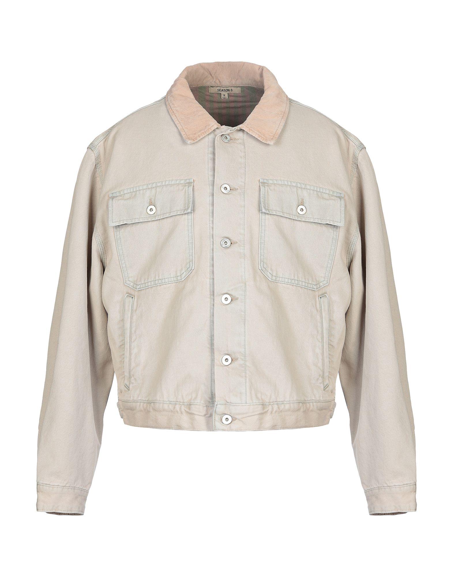 цены YEEZY Джинсовая верхняя одежда