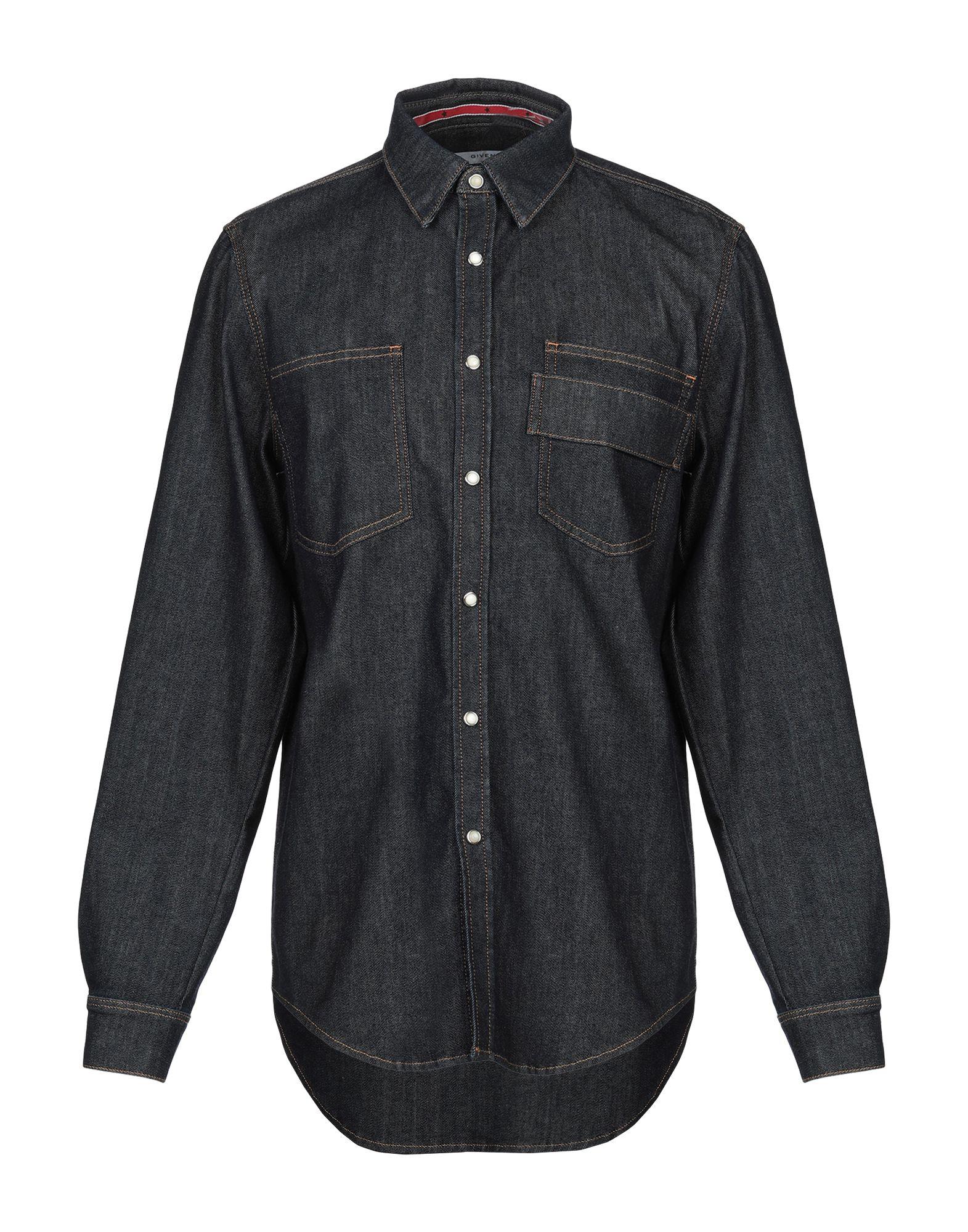 GIVENCHY Джинсовая рубашка casio mq 24 1b
