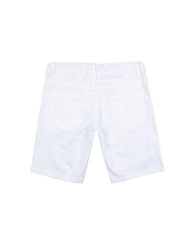 Фото 2 - Бермуды белого цвета
