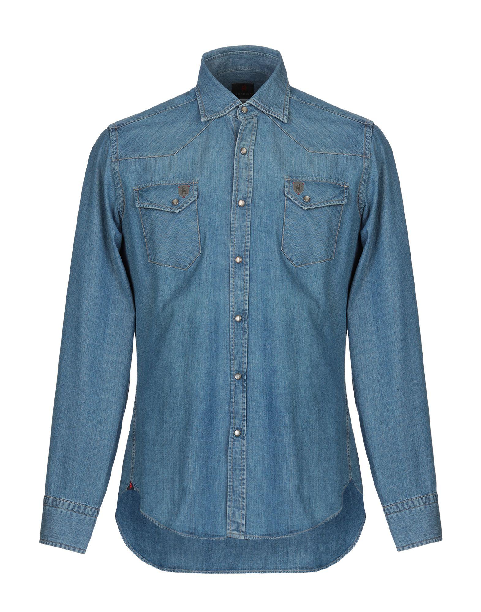 RODRIGO Джинсовая рубашка rodrigo водолазки