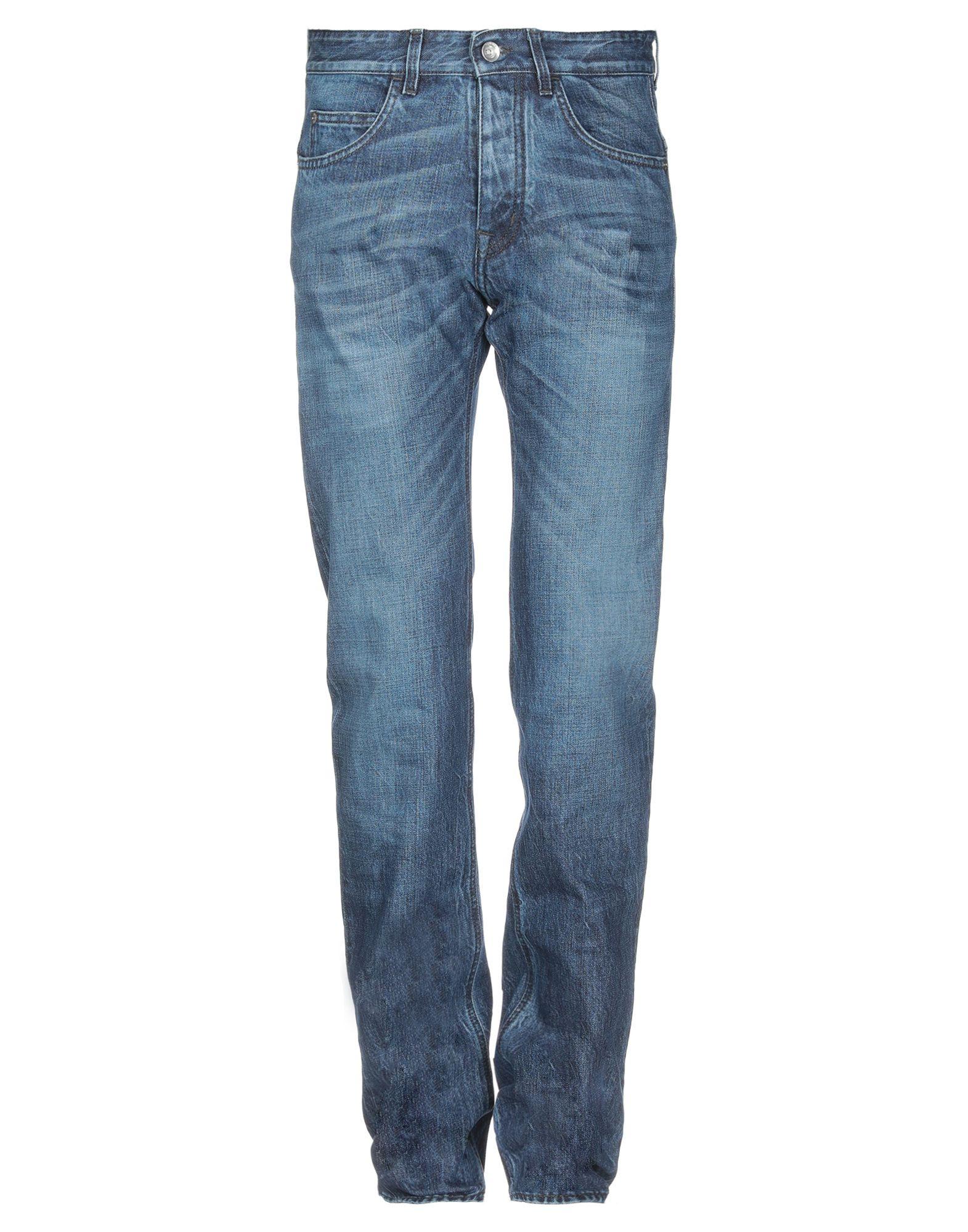 《送料無料》HAIKURE メンズ ジーンズ ブルー 30W-34L オーガニックコットン 100%