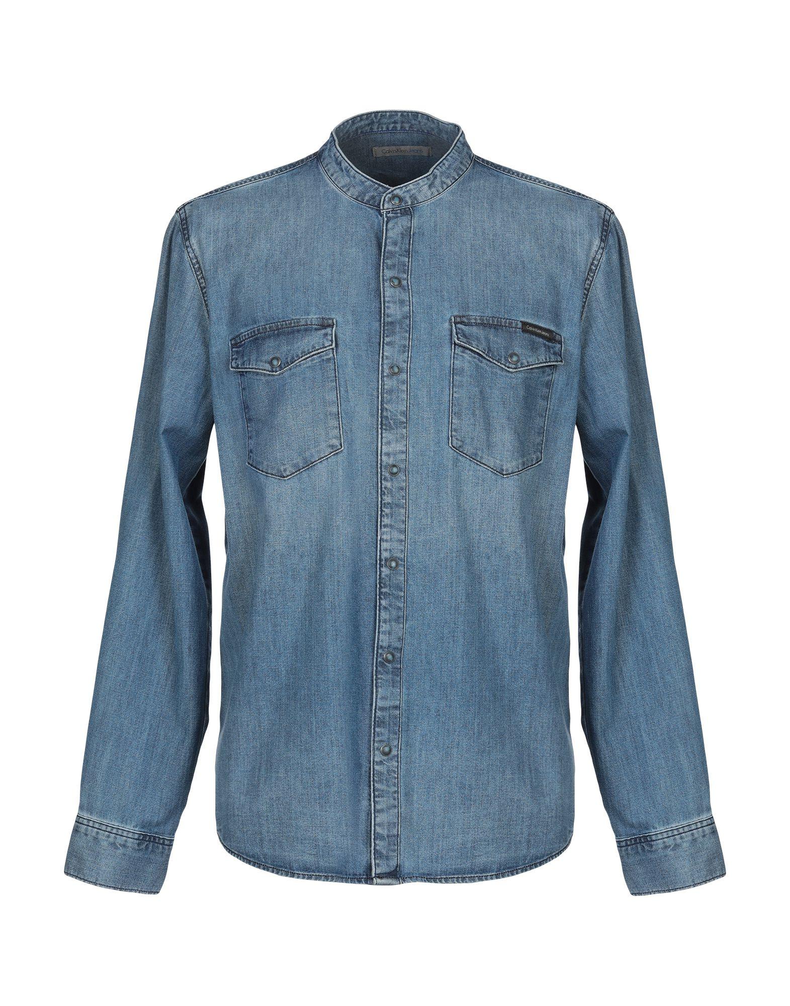 цена на CALVIN KLEIN JEANS Джинсовая рубашка