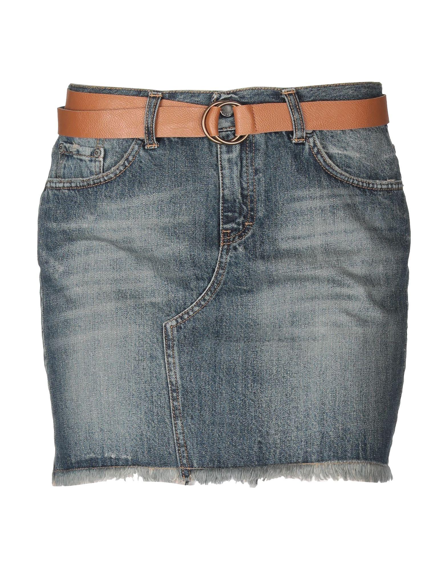 SOUVENIR Джинсовая юбка souvenir джинсовая рубашка