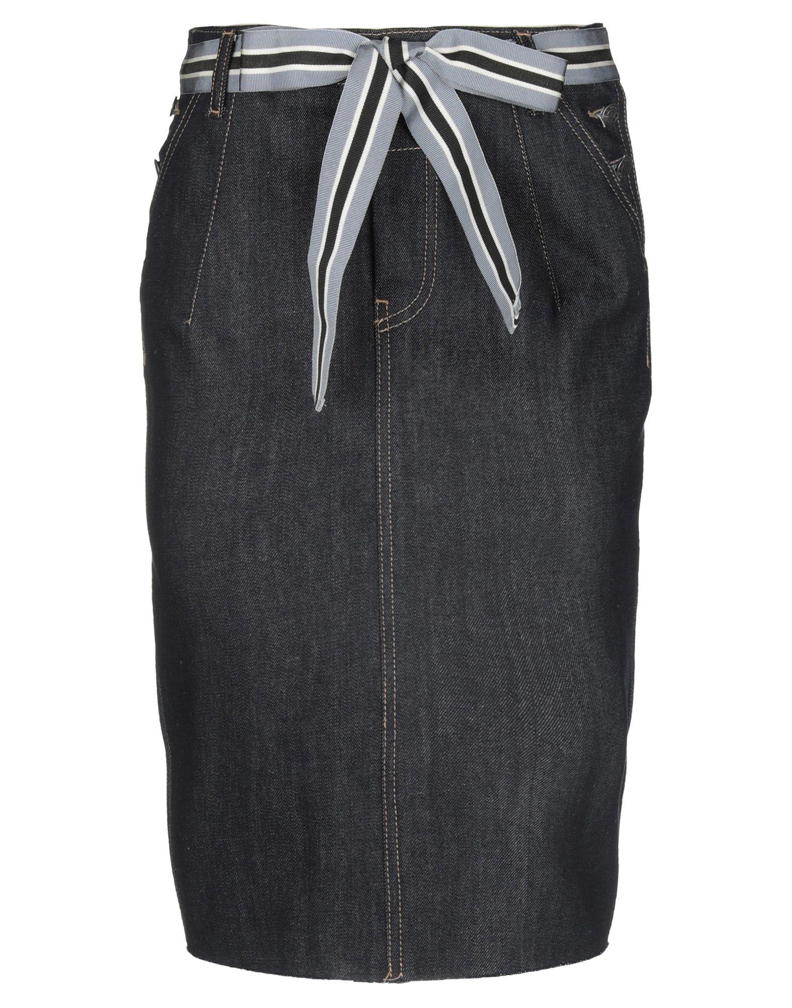 《送料無料》VICOLO レディース デニムスカート ブルー XS コットン 100%