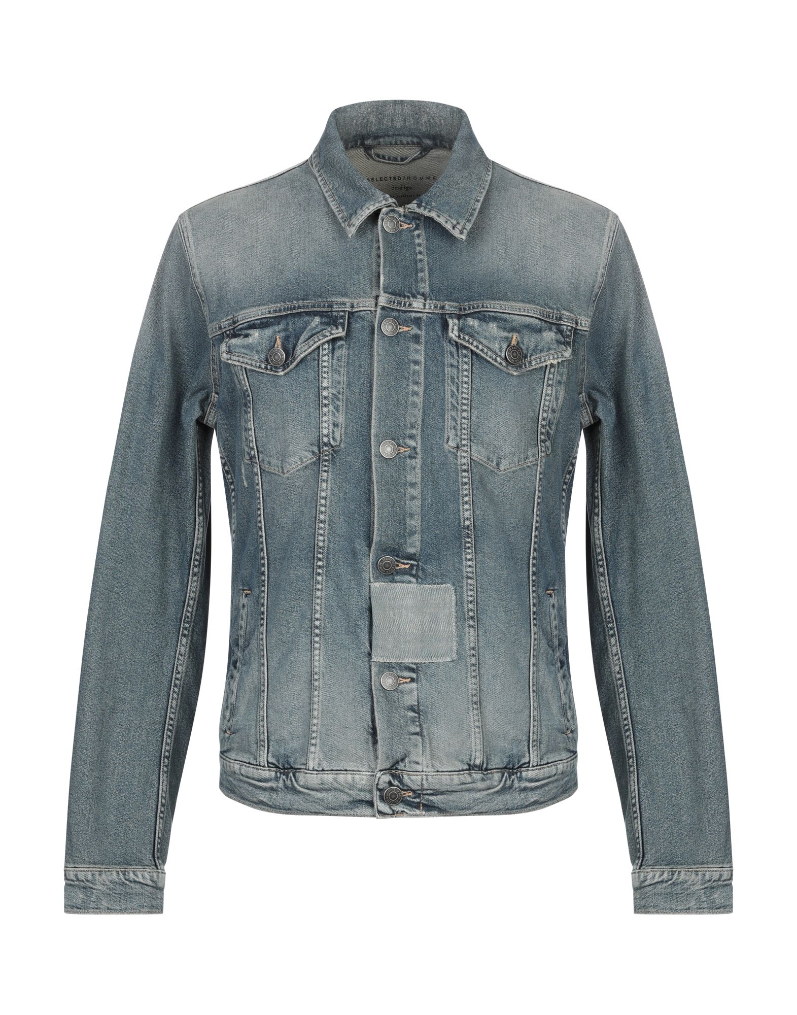 SELECTED HOMME Джинсовая верхняя одежда одежда из кожи selected sld 412428004