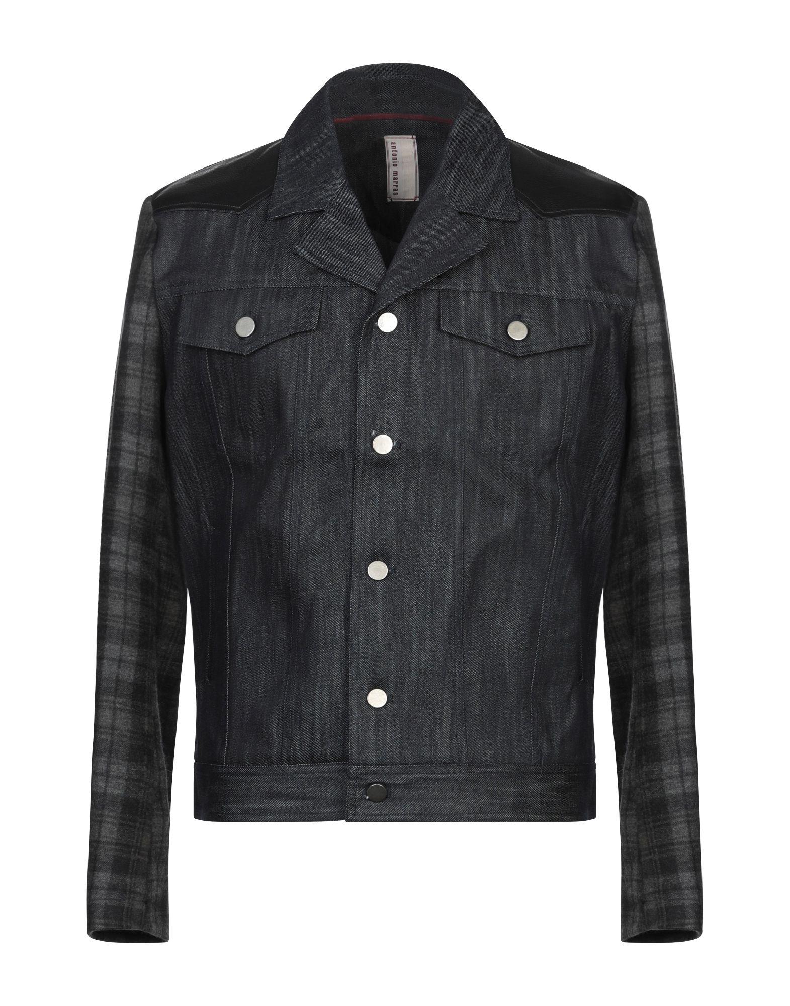 ANTONIO MARRAS Джинсовая верхняя одежда antonio marras джинсовая рубашка