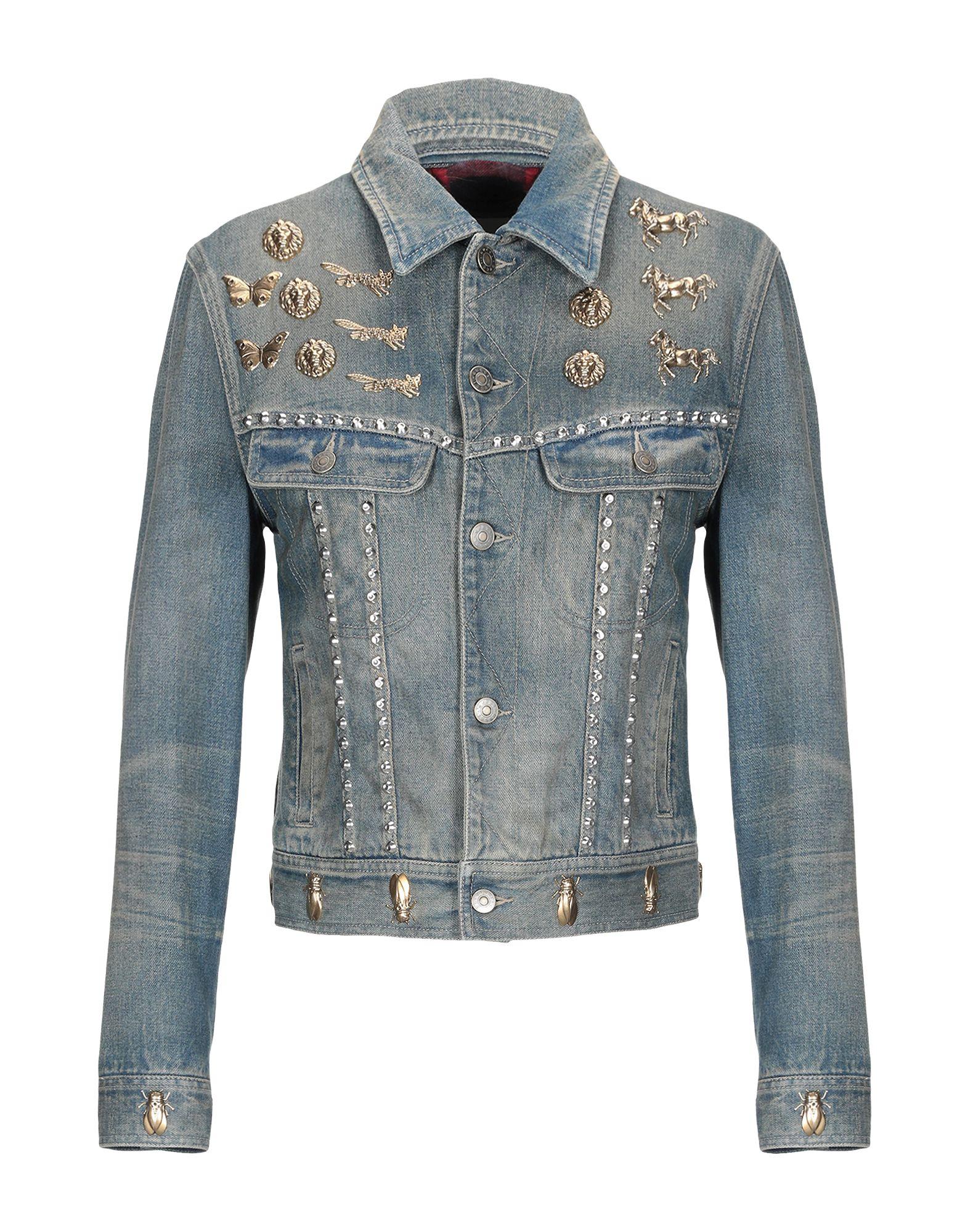 GUCCI  Damen Jeansjacke -mantel1 blau
