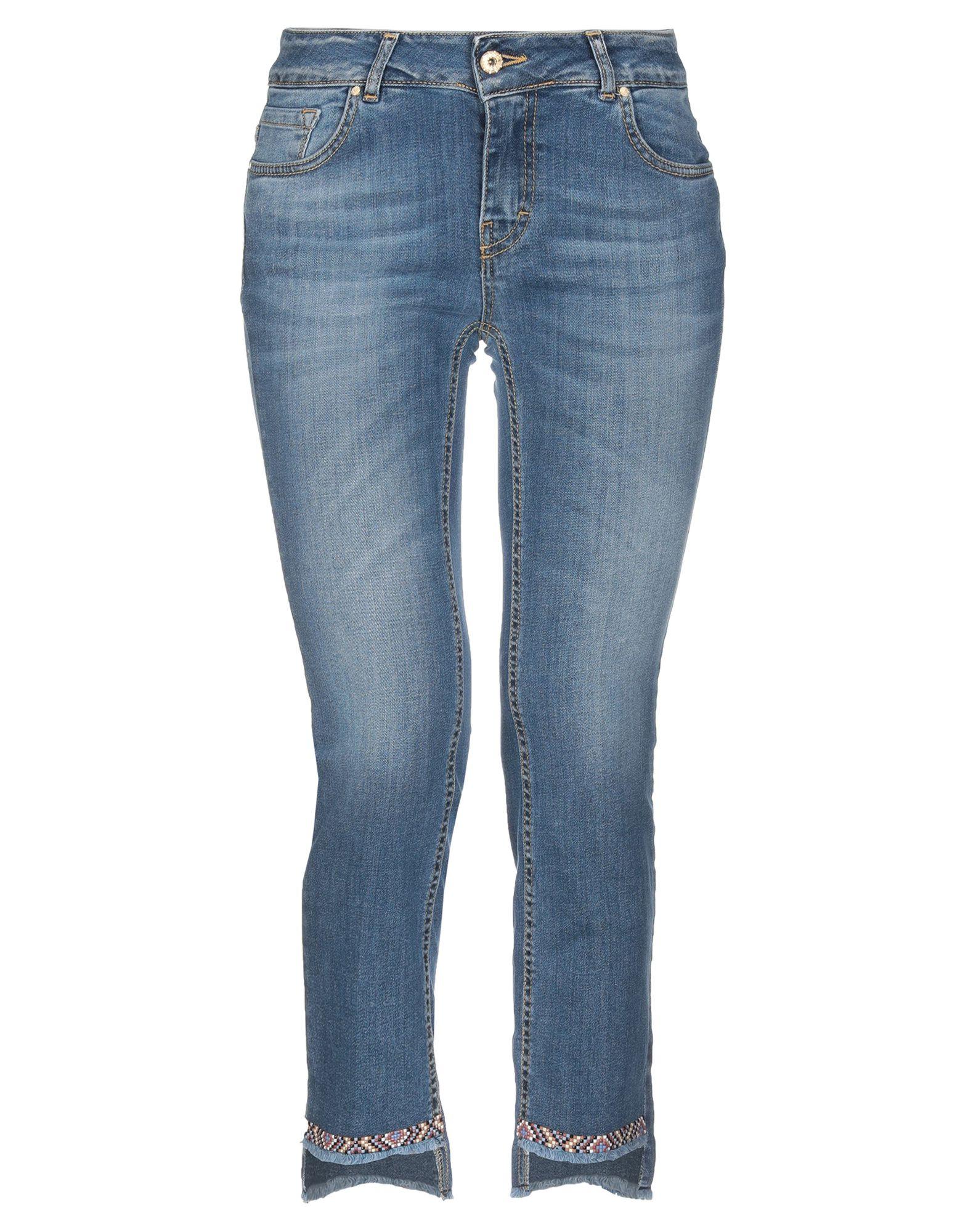 KOCCA Джинсовые брюки-капри kocca джинсовые брюки