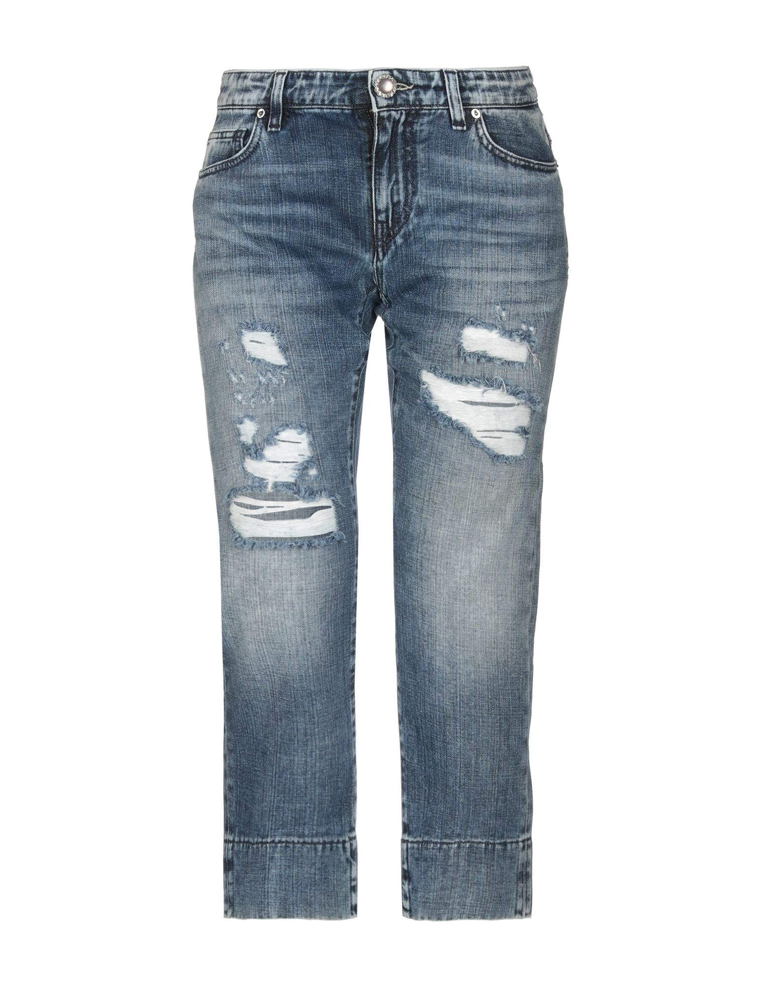 JIJIL LE BLEU Джинсовые брюки-капри