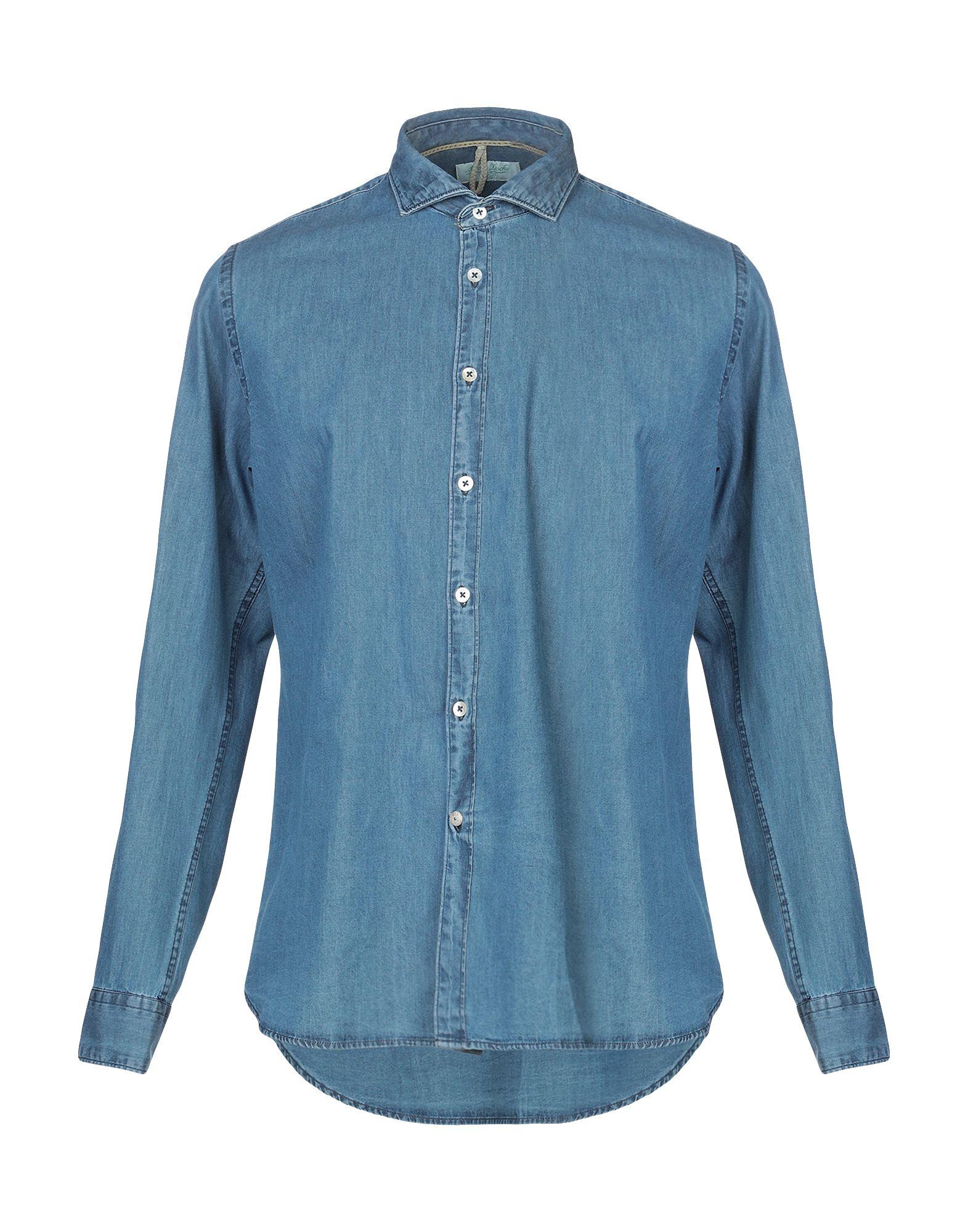 ALLEY DOCKS 963 Джинсовая рубашка alley docks 963 джинсовая рубашка
