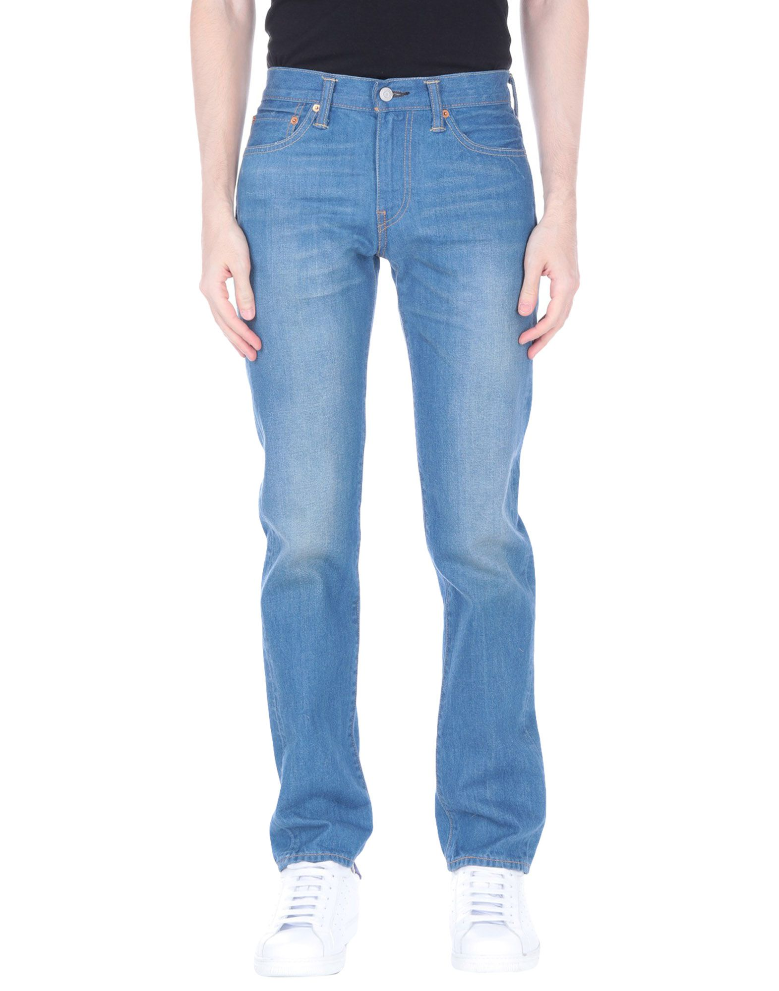 LEVI'S RED TAB Джинсовые брюки slim fit faded straight jeans