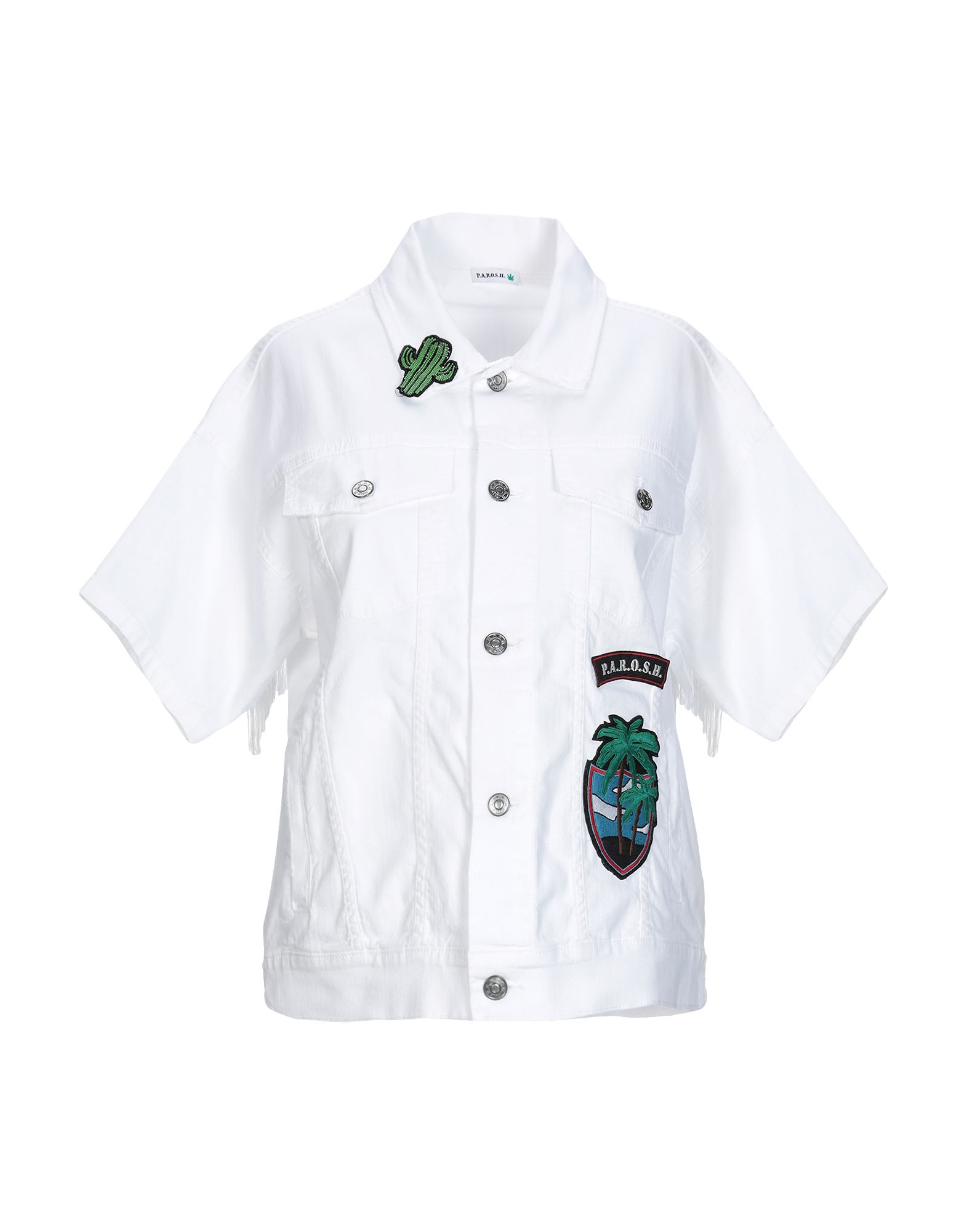 P.A.R.O.S.H. Джинсовая верхняя одежда брендовая одежда