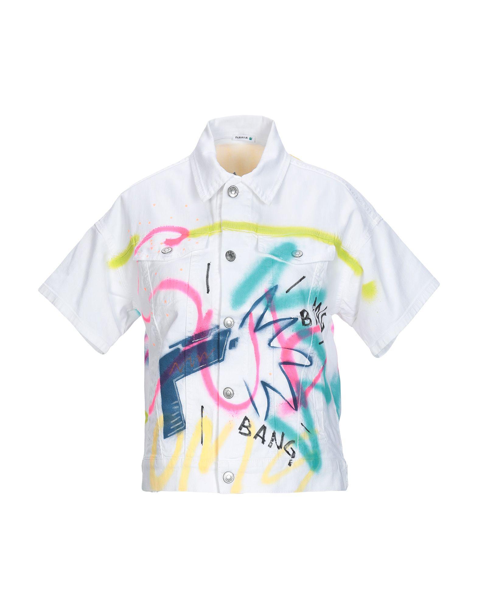 P.A.R.O.S.H. Джинсовая верхняя одежда цена 2017