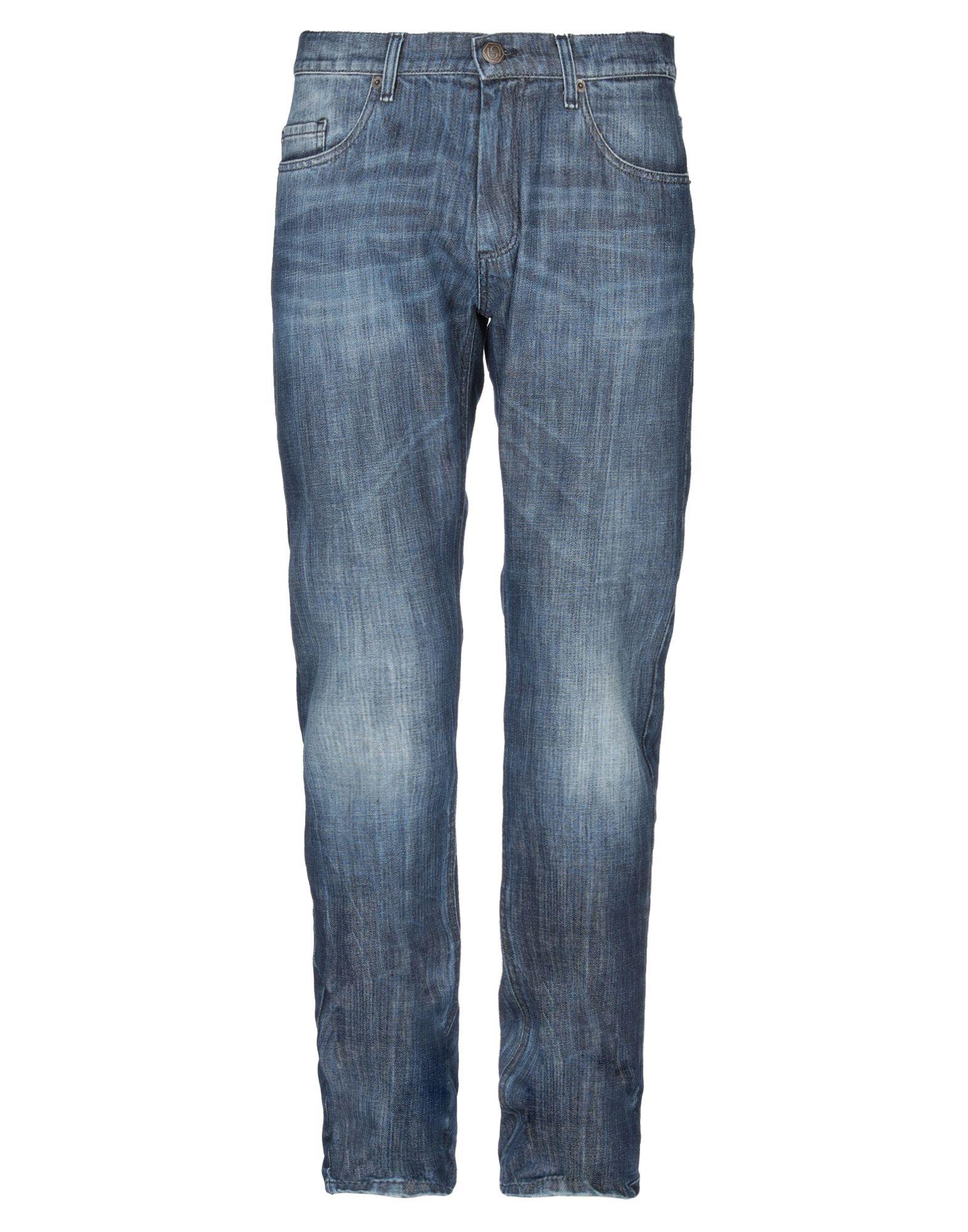 《送料無料》BYBLOS メンズ ジーンズ ブルー 33 コットン 100%