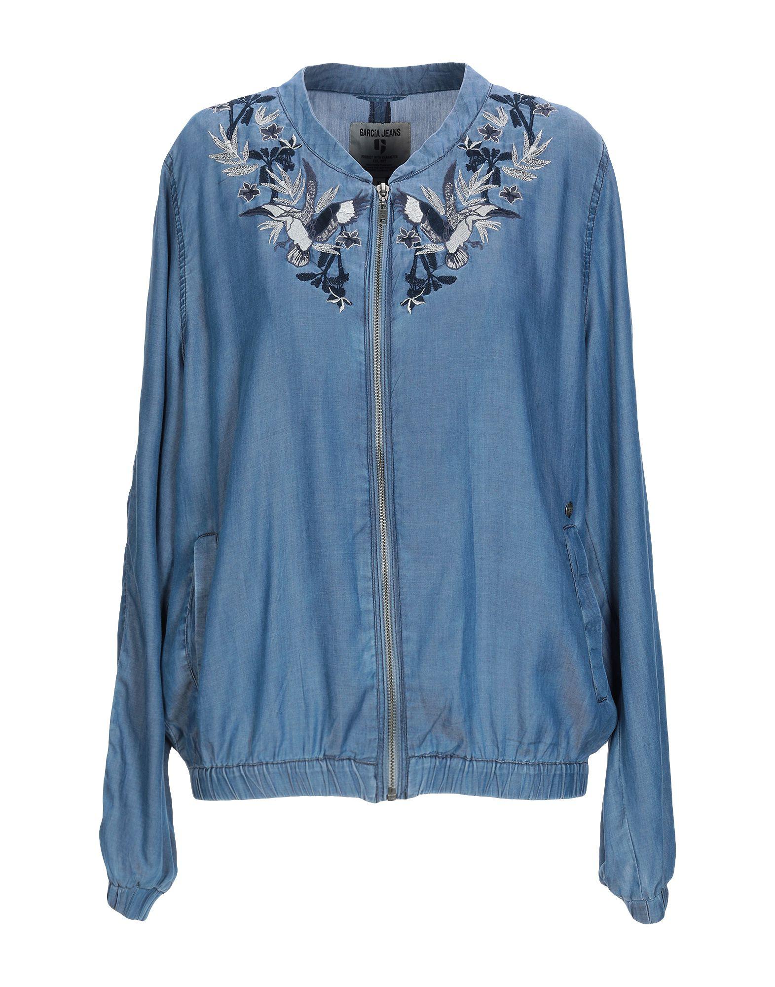 GARCIA JEANS Джинсовая верхняя одежда garcia jeans джинсовая рубашка