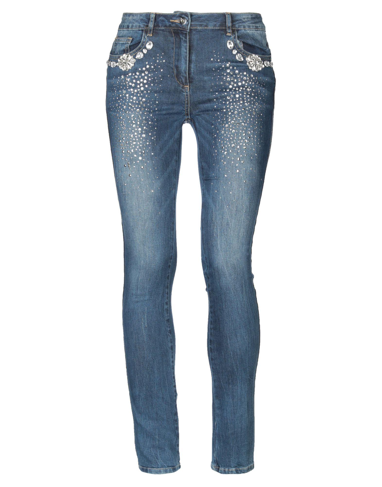 NO SECRETS Джинсовые брюки no 21 голубые брюки из хлопка