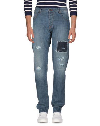 Фото 2 - Джинсовые брюки от MACCHIA J синего цвета