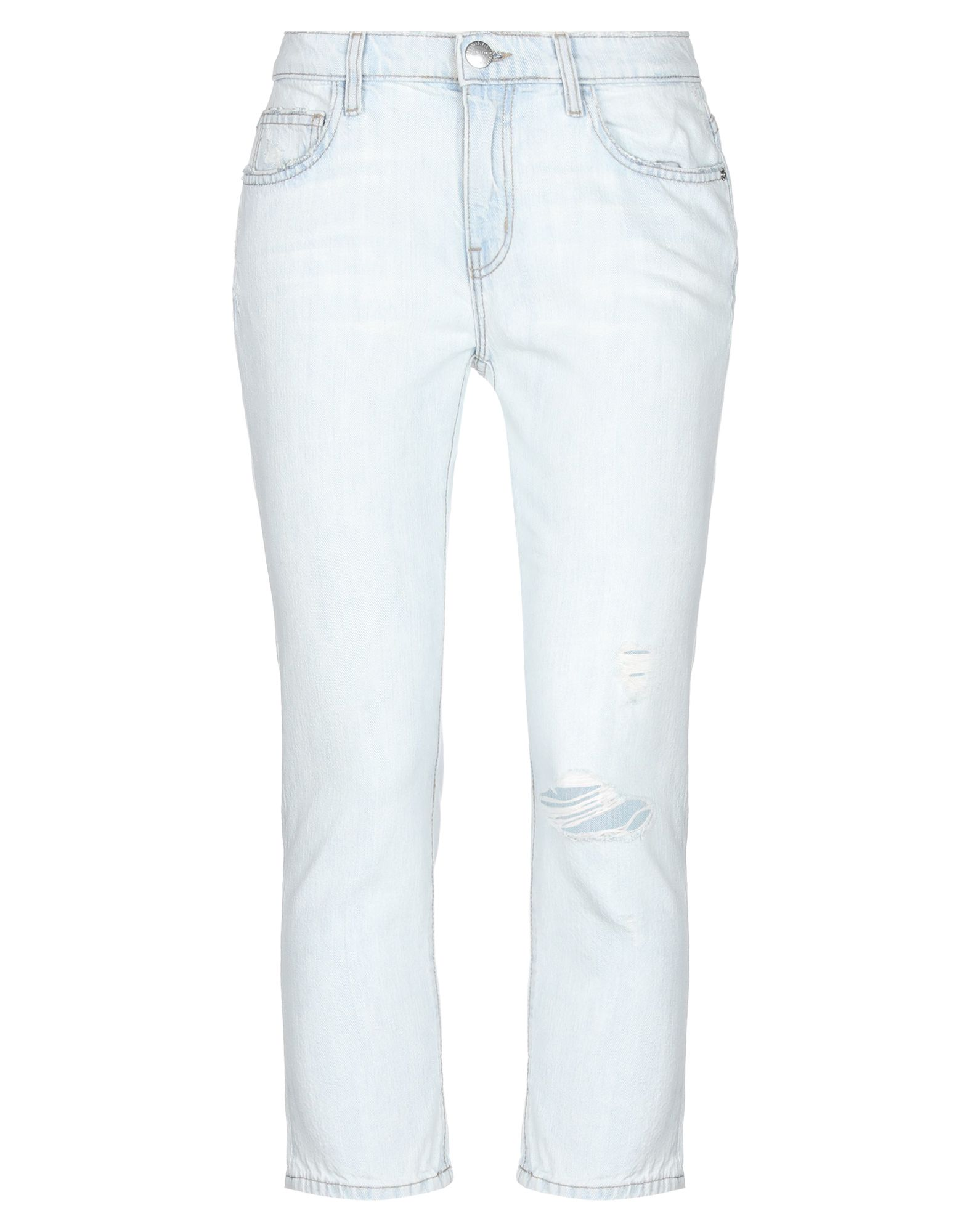 current elliott укороченные джинсы скинни CURRENT/ELLIOTT Укороченные джинсы